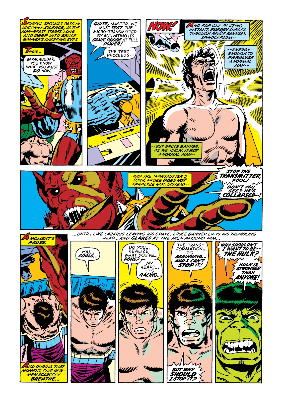 Read online Marvel Masterworks: The Incredible Hulk comic -  Issue # TPB 10 (Part 2) - 32