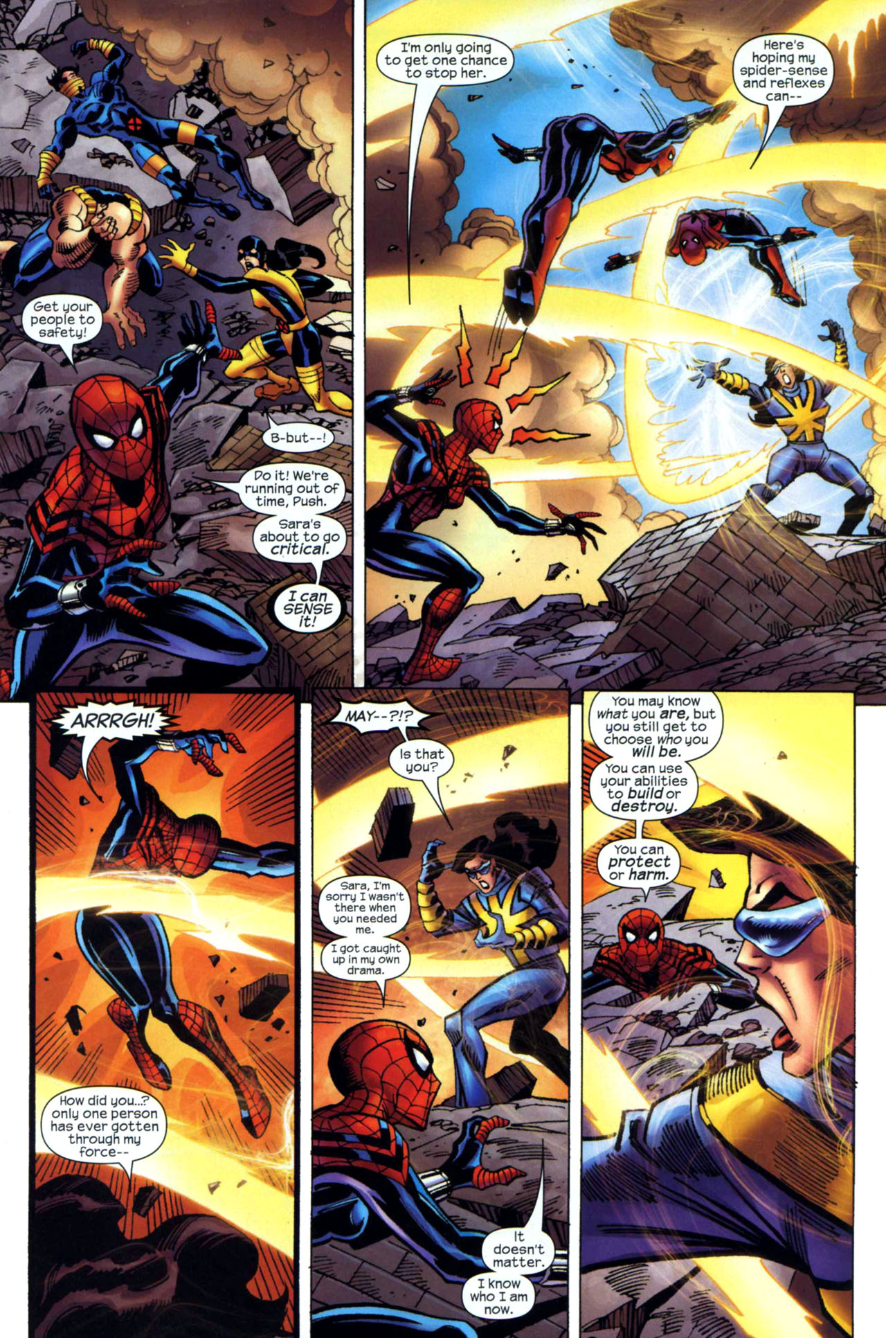 Read online Amazing Spider-Girl comic -  Issue #24 - 20