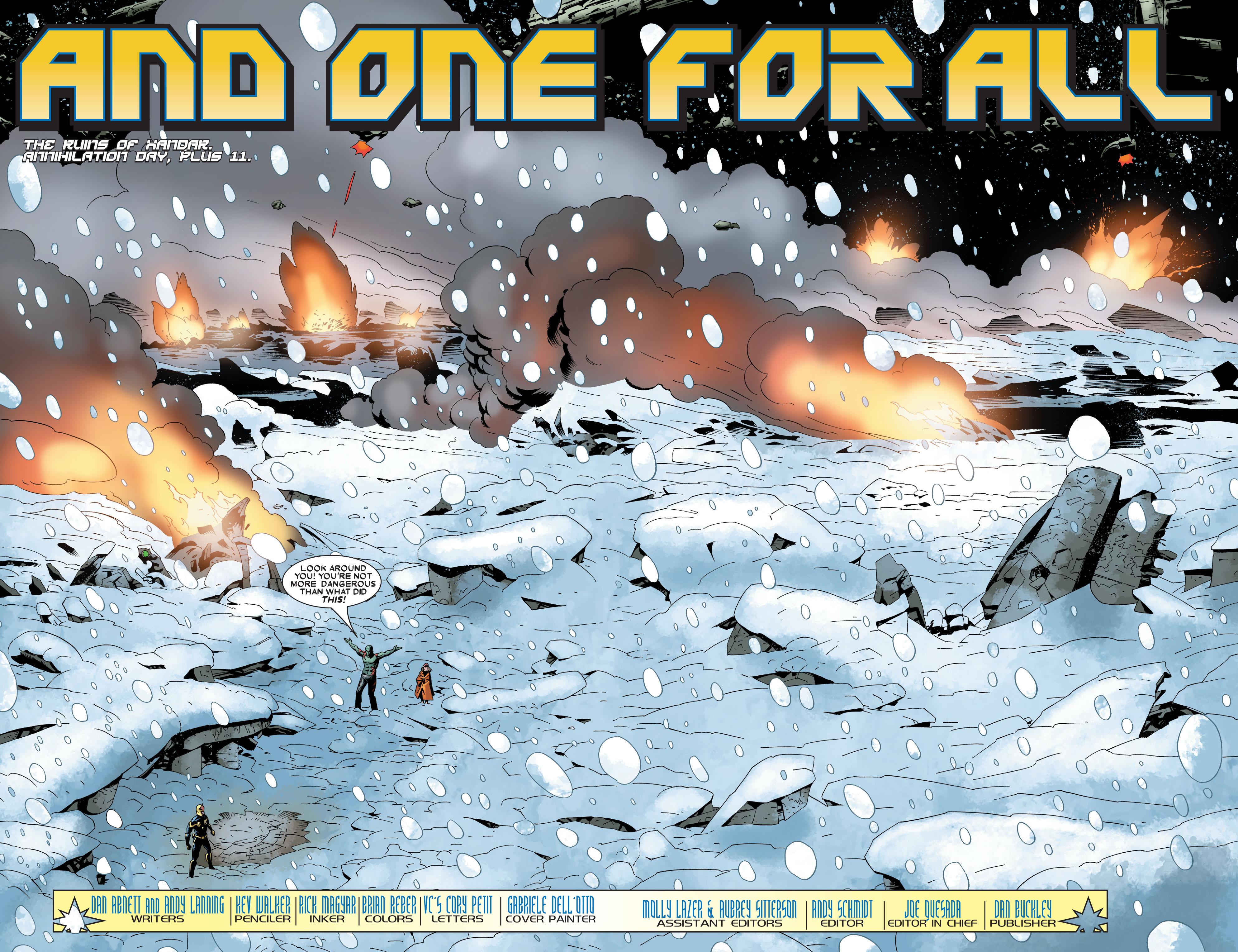 Read online Annihilation: Nova comic -  Issue #2 - 4