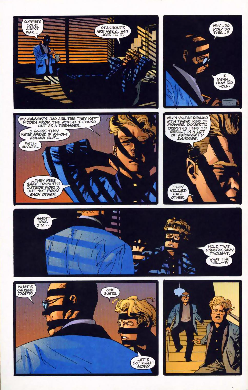 Wildcats (1999) Issue #19 #20 - English 6