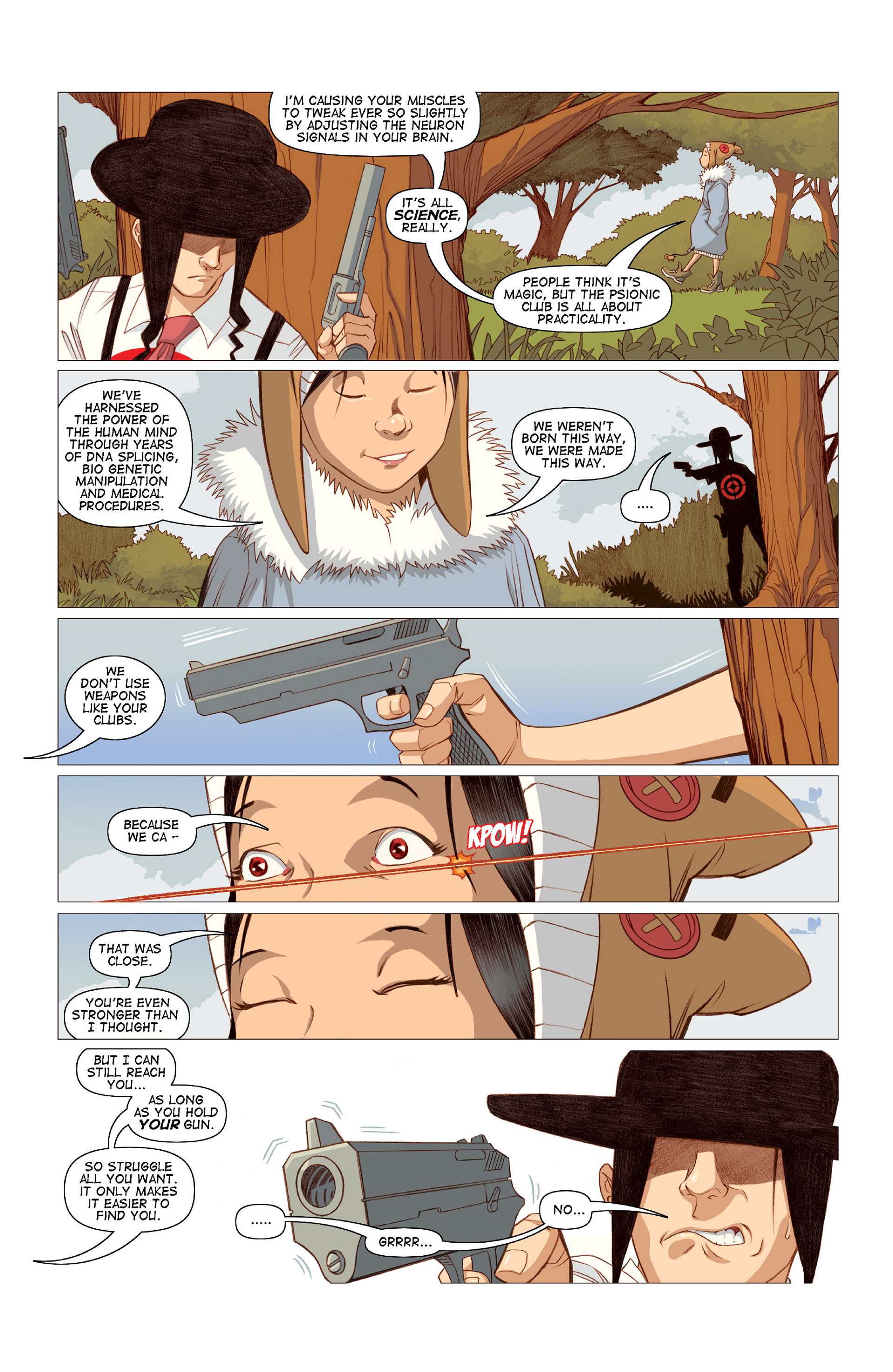 Read online Five Weapons comic -  Issue #10 - 22