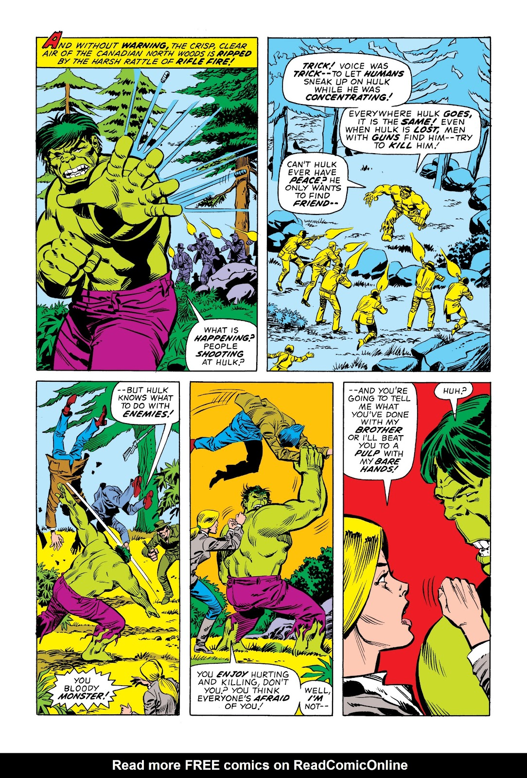 Read online Marvel Masterworks: The Incredible Hulk comic -  Issue # TPB 9 (Part 2) - 19