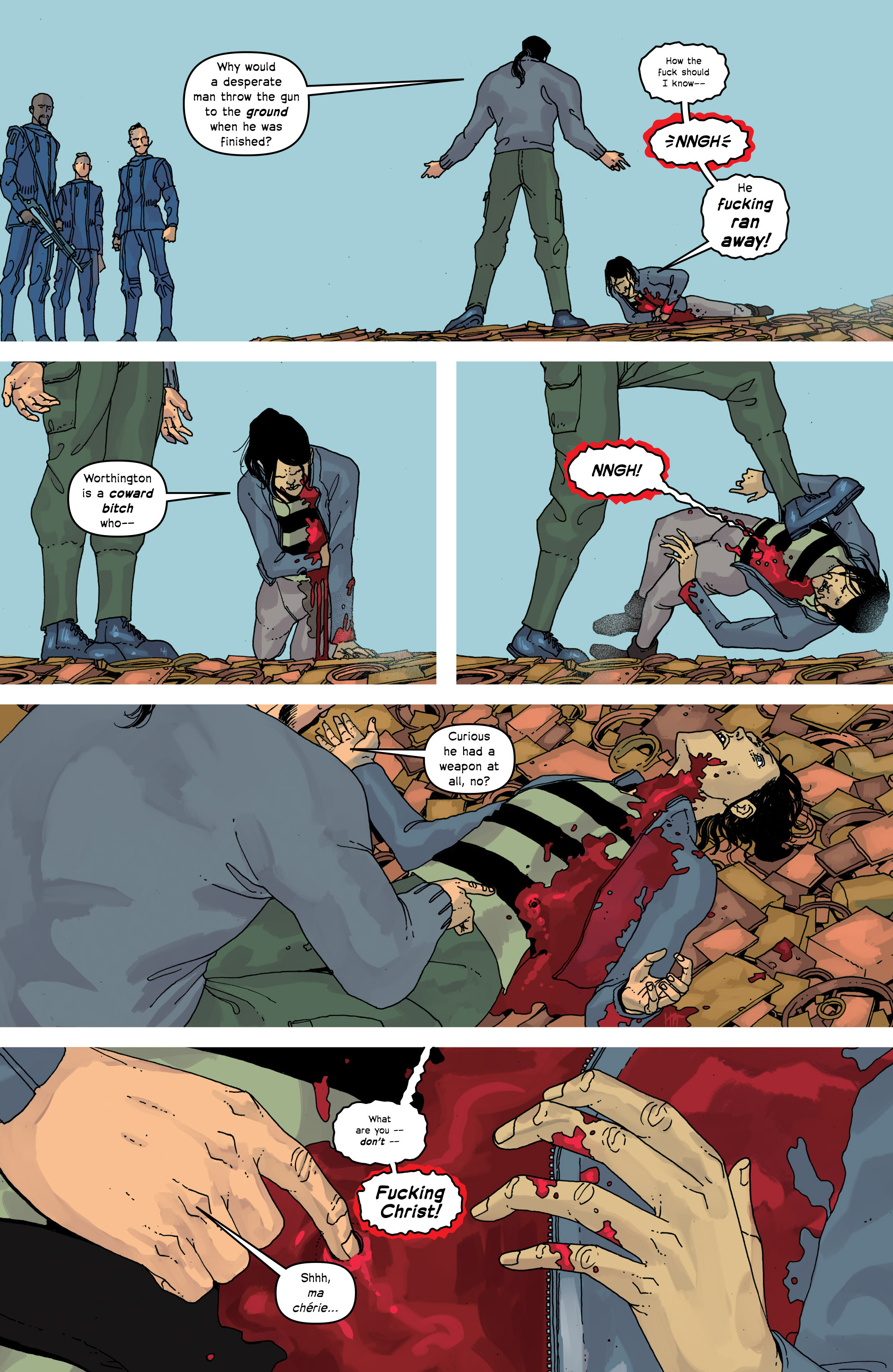 Read online Great Pacific comic -  Issue #17 - 4