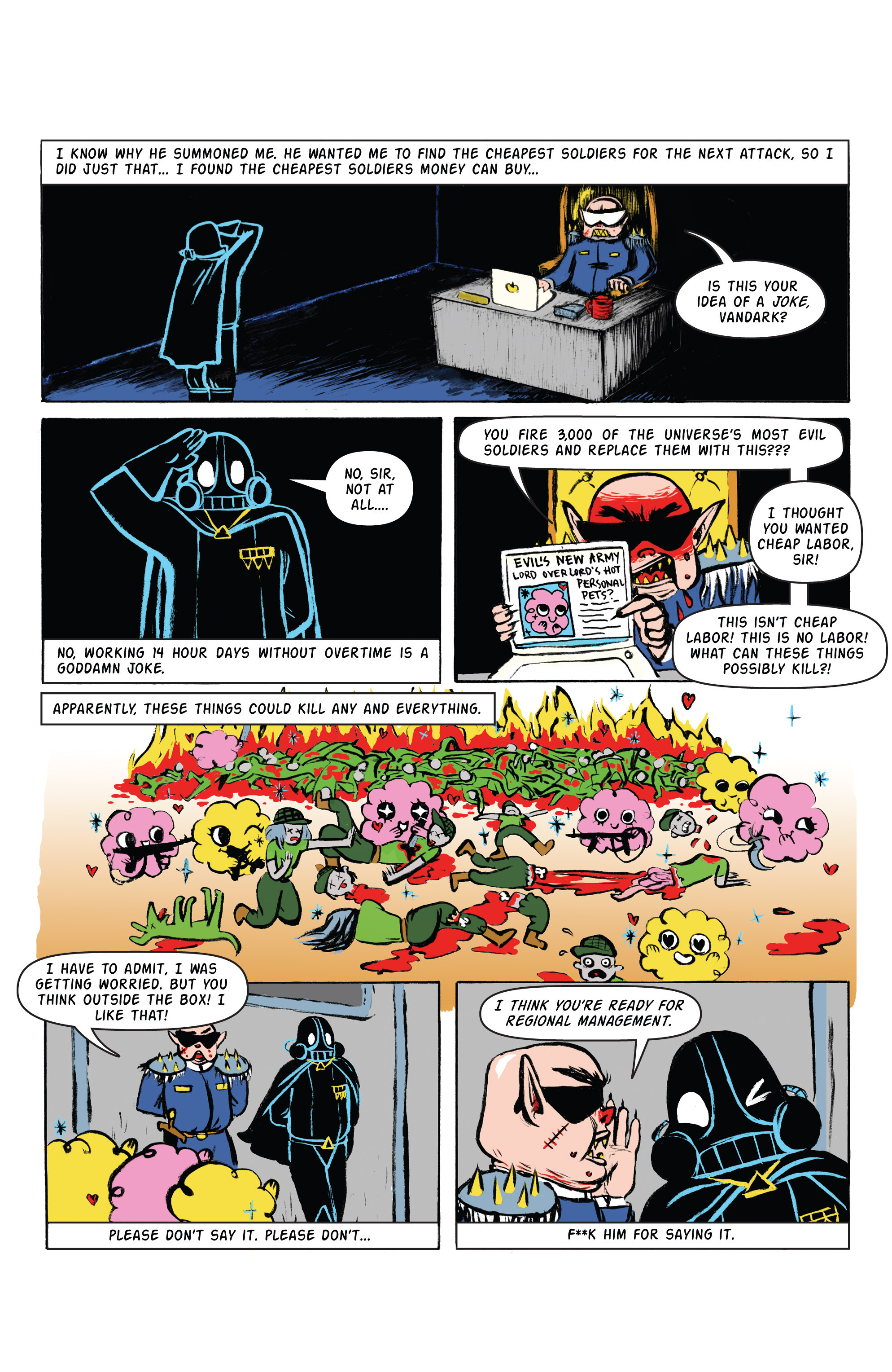 Read online Amazing Forest (2016) comic -  Issue #2 - 12