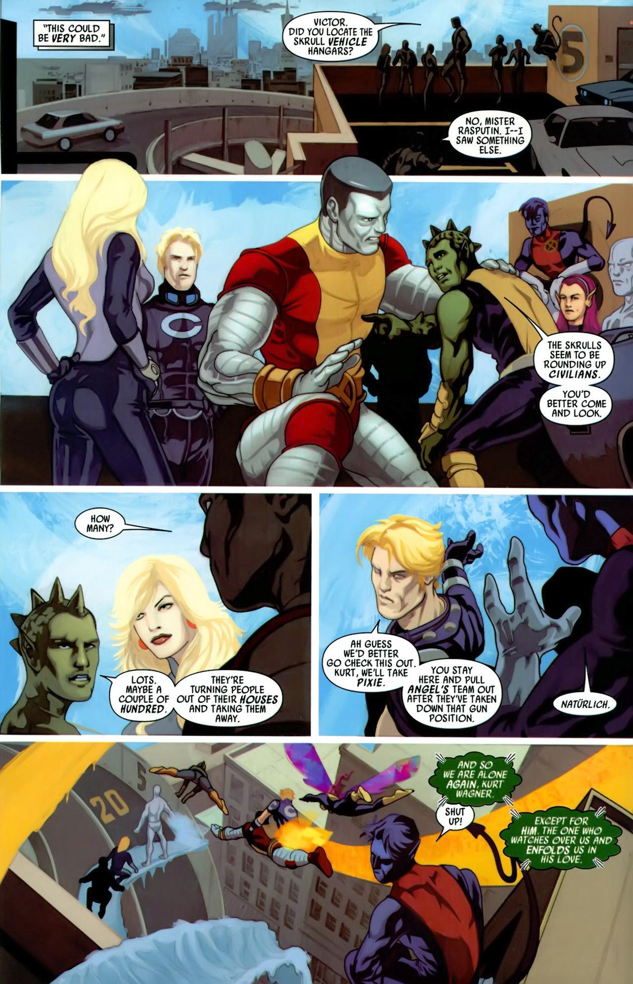 Read online Secret Invasion: X-Men comic -  Issue #3 - 10