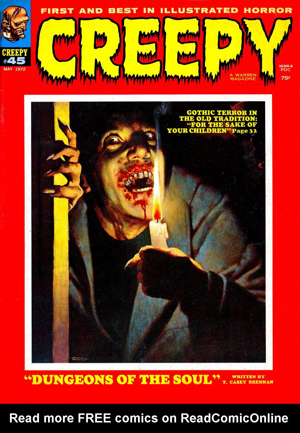 Creepy (1964) 45 Page 1