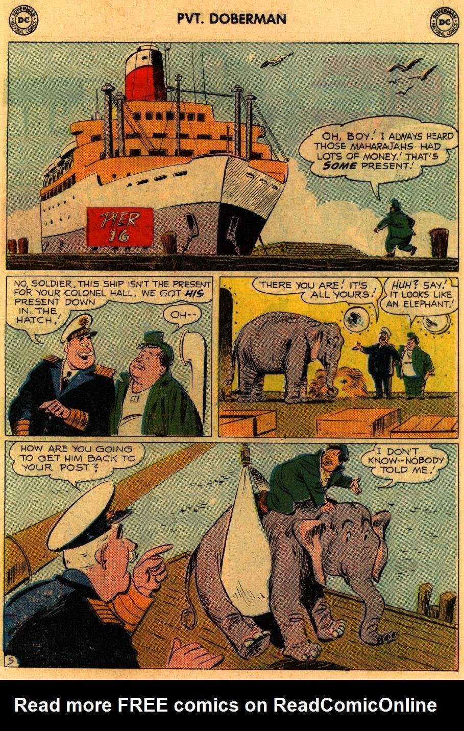 Sgt. Bilko's Pvt. Doberman issue 9 - Page 7