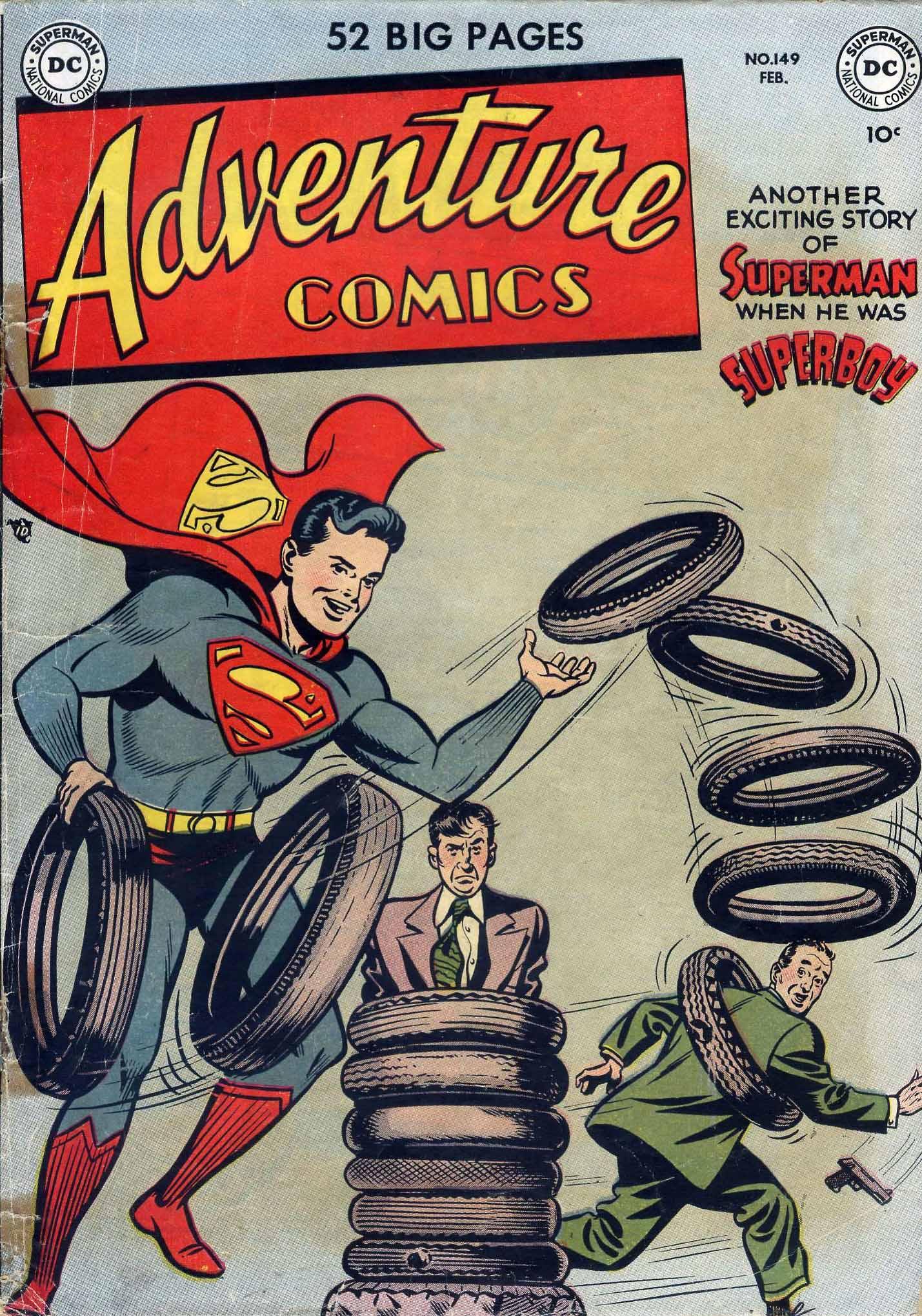 Read online Adventure Comics (1938) comic -  Issue #149 - 1