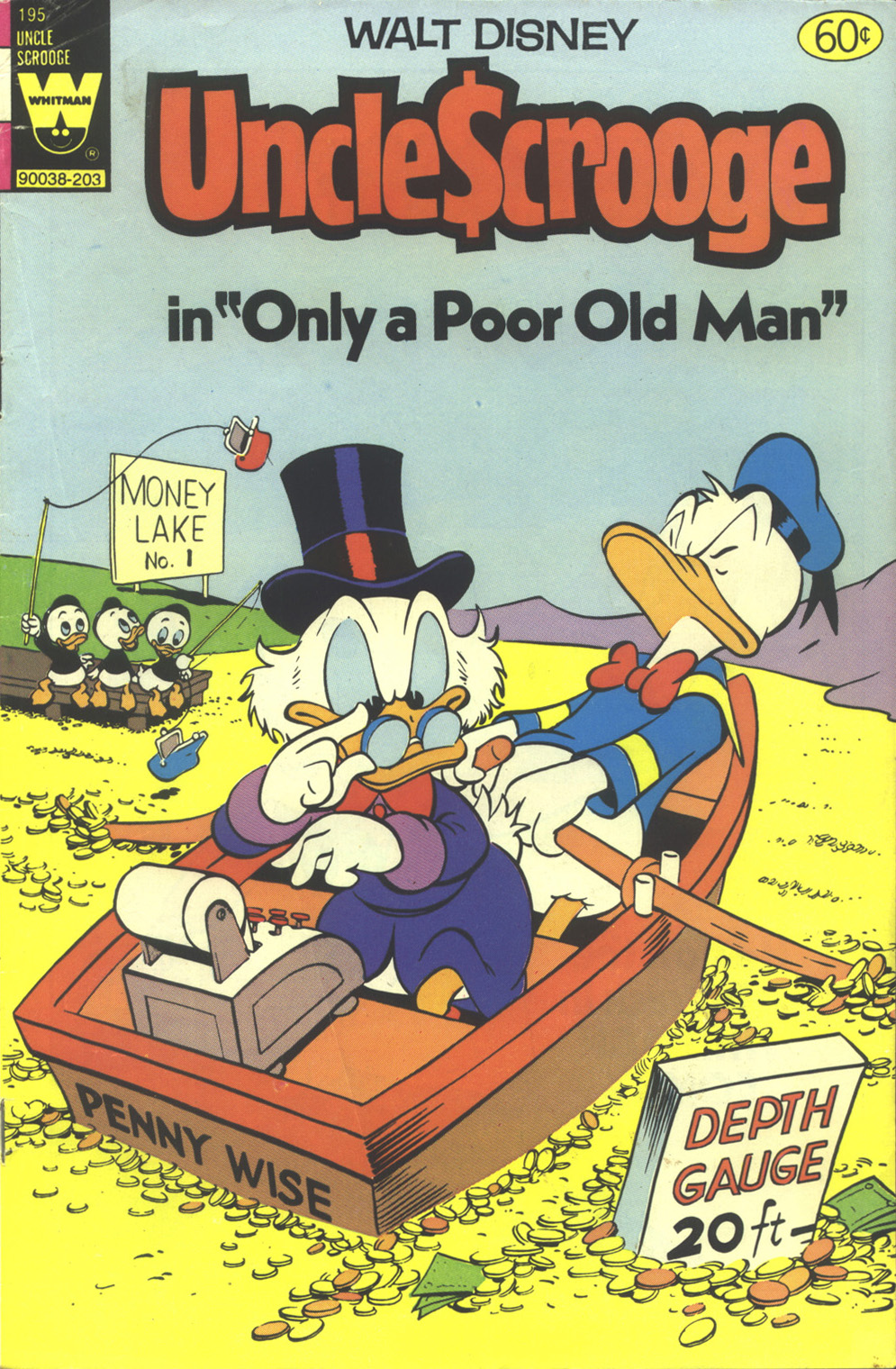 Read online Uncle Scrooge (1953) comic -  Issue #195 - 1