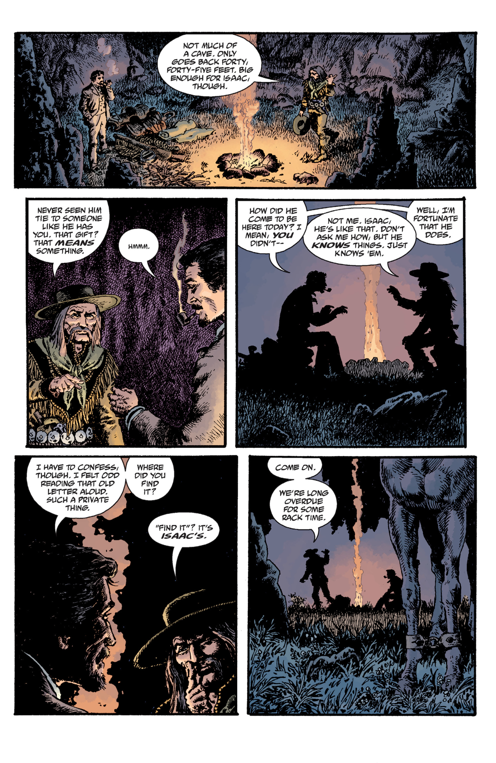 Read online Sir Edward Grey, Witchfinder: Lost and Gone Forever comic -  Issue # TPB - 72