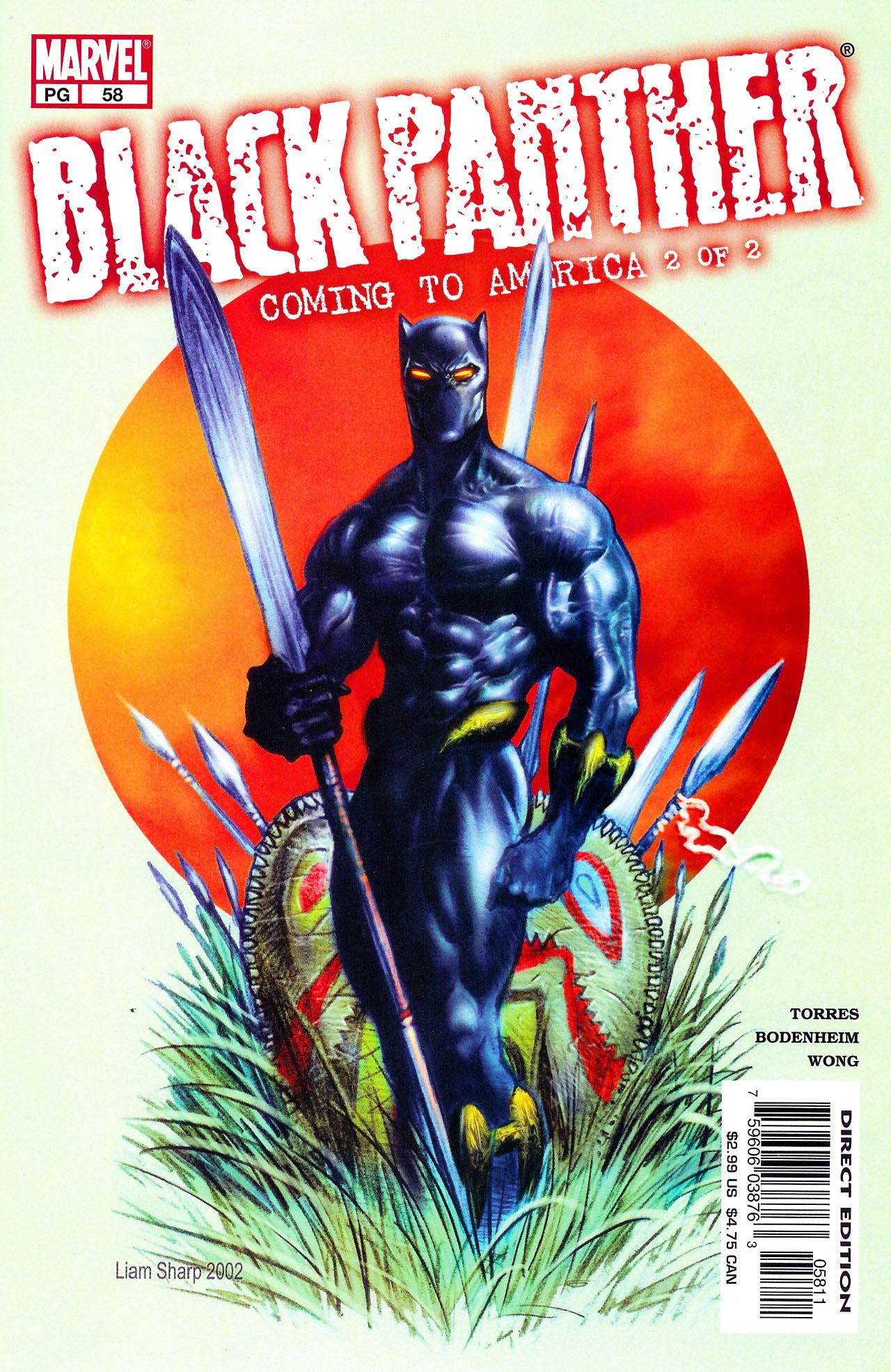 Black Panther (1998) 58 Page 1