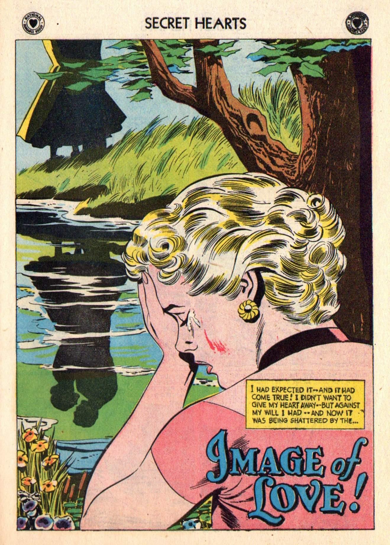 Read online Secret Hearts comic -  Issue #48 - 27