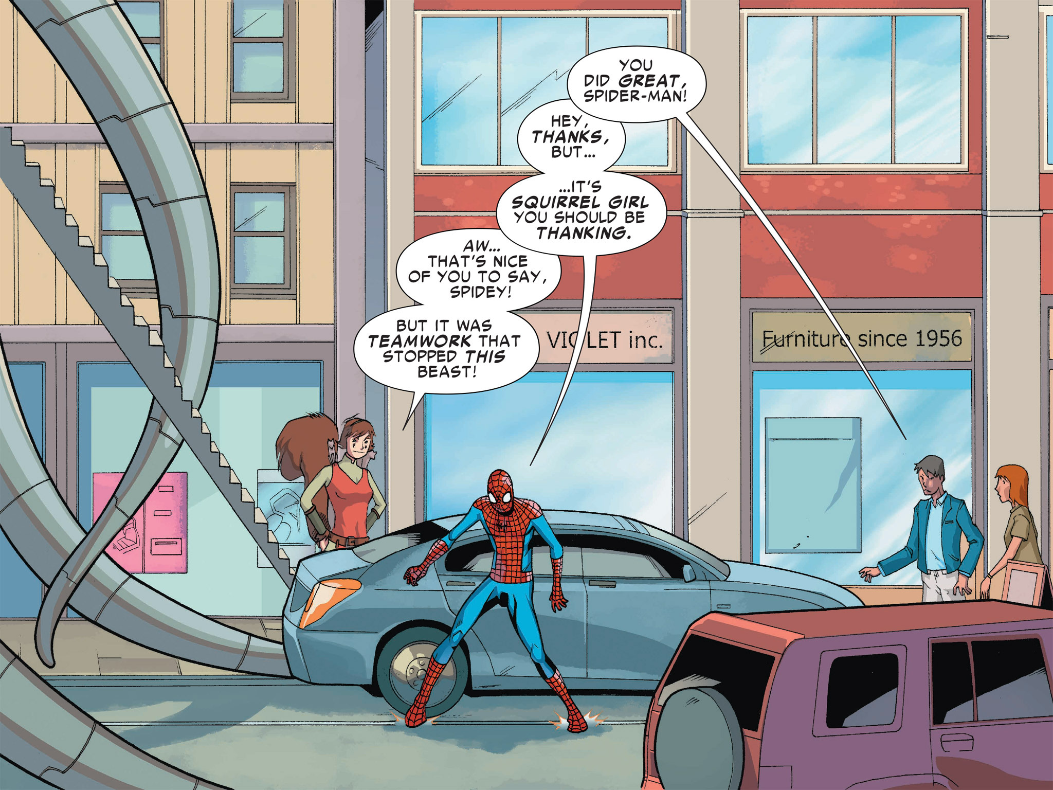 Read online Ultimate Spider-Man (Infinite Comics) (2016) comic -  Issue #1 - 52