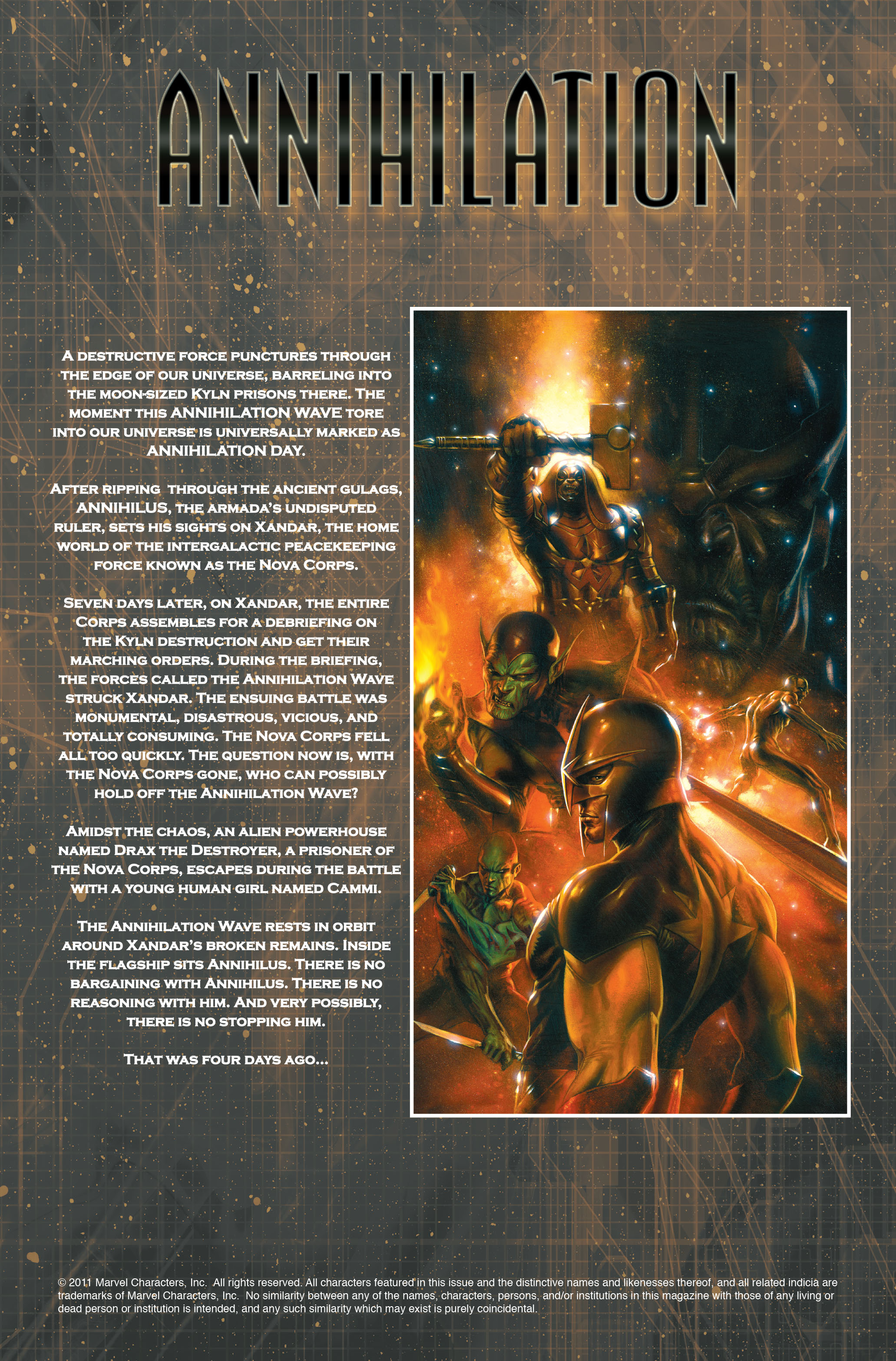 Read online Annihilation: Nova comic -  Issue #1 - 6