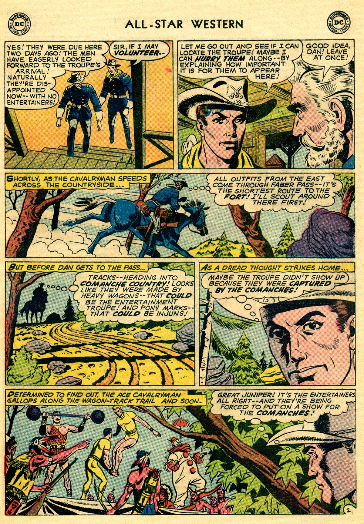 Read online All-Star Western (1951) comic -  Issue #109 - 17
