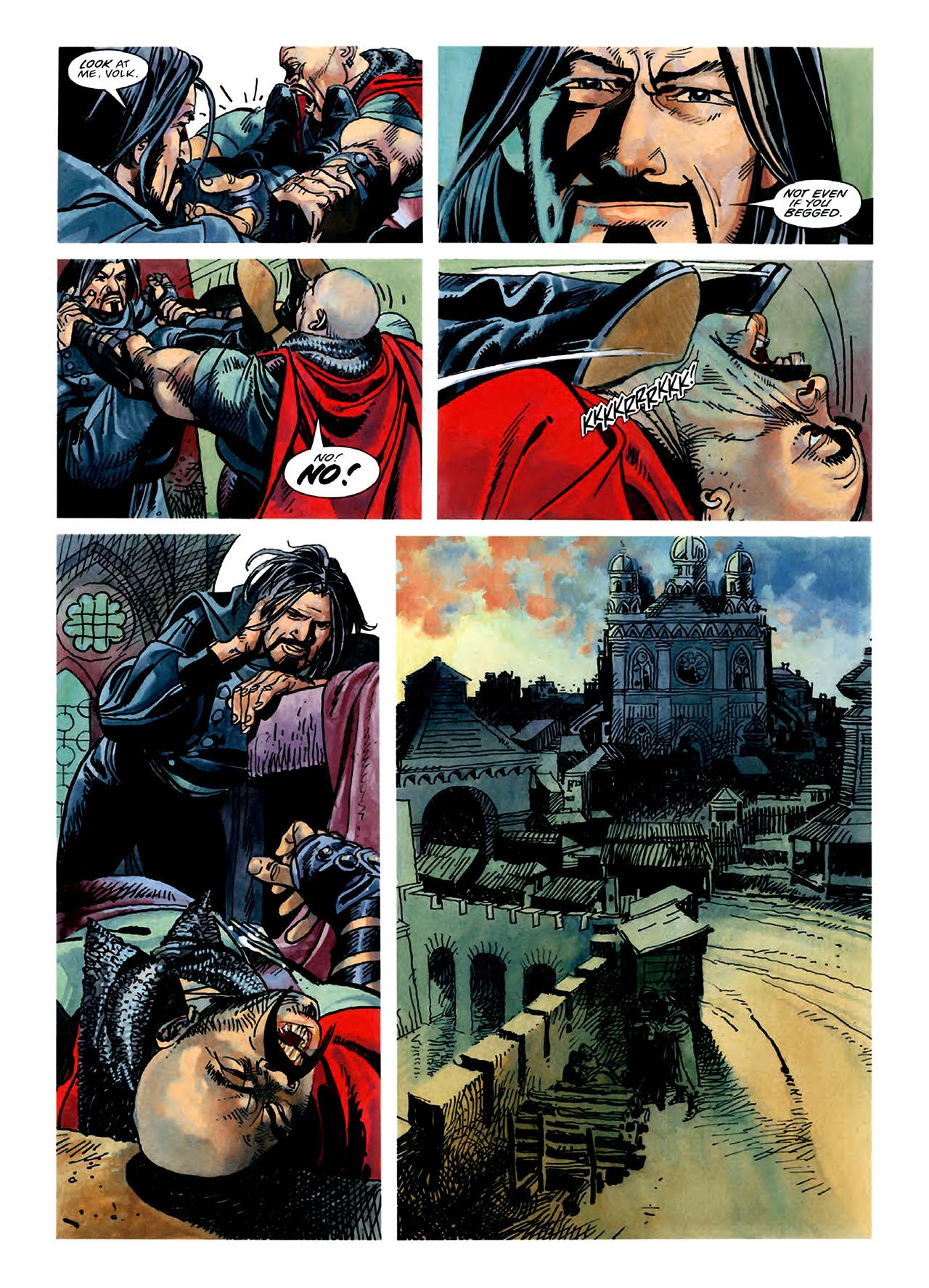 Read online Nikolai Dante comic -  Issue # TPB 3 - 57