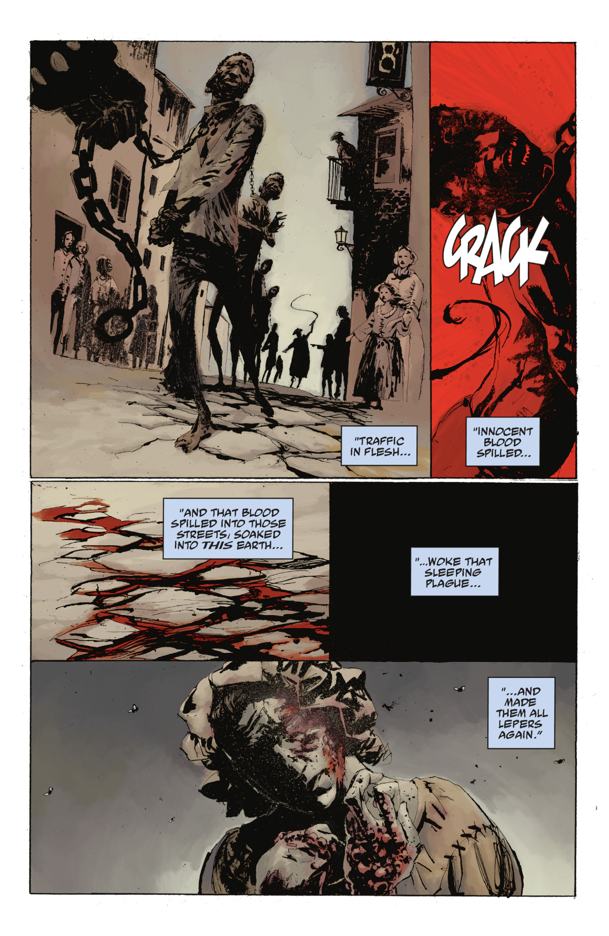 Read online Abe Sapien: The Drowning comic -  Issue #Abe Sapien: The Drowning _TPB - 96