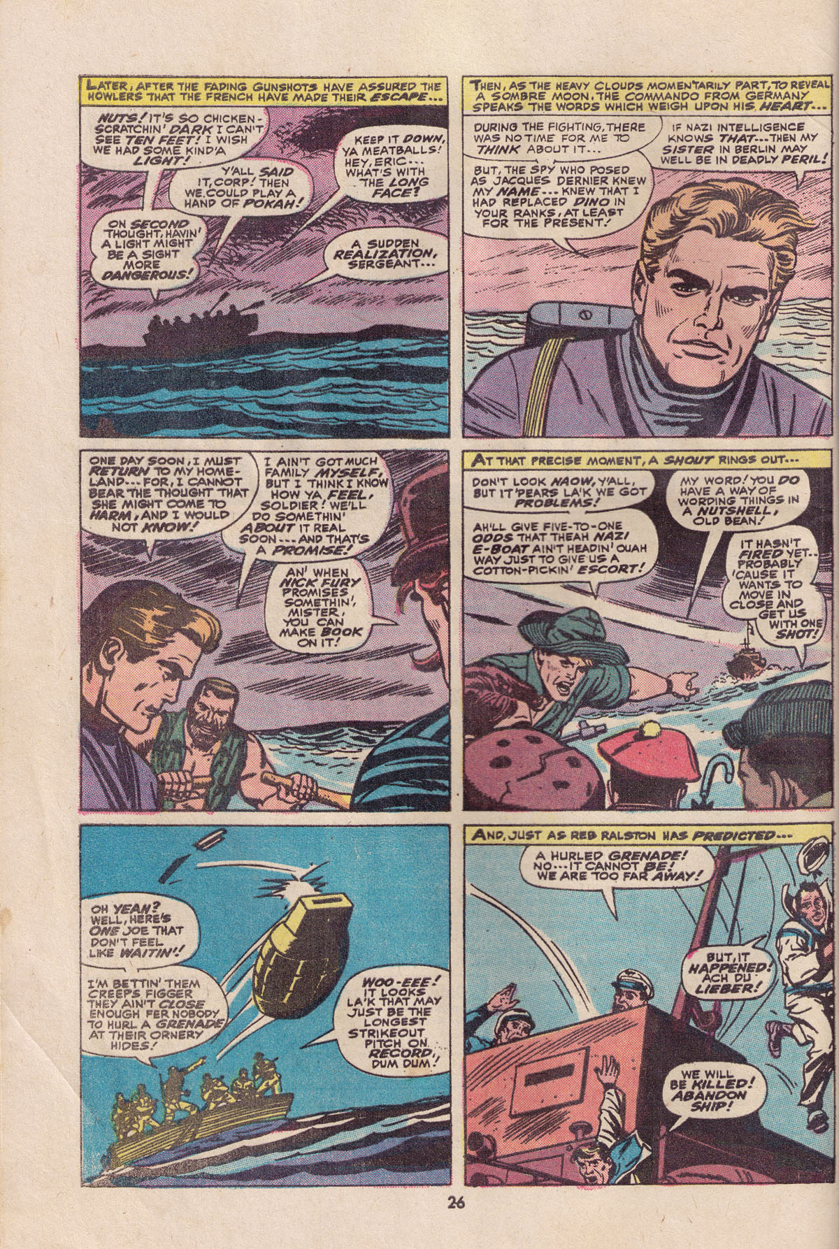 Read online Sgt. Fury comic -  Issue #113 - 28