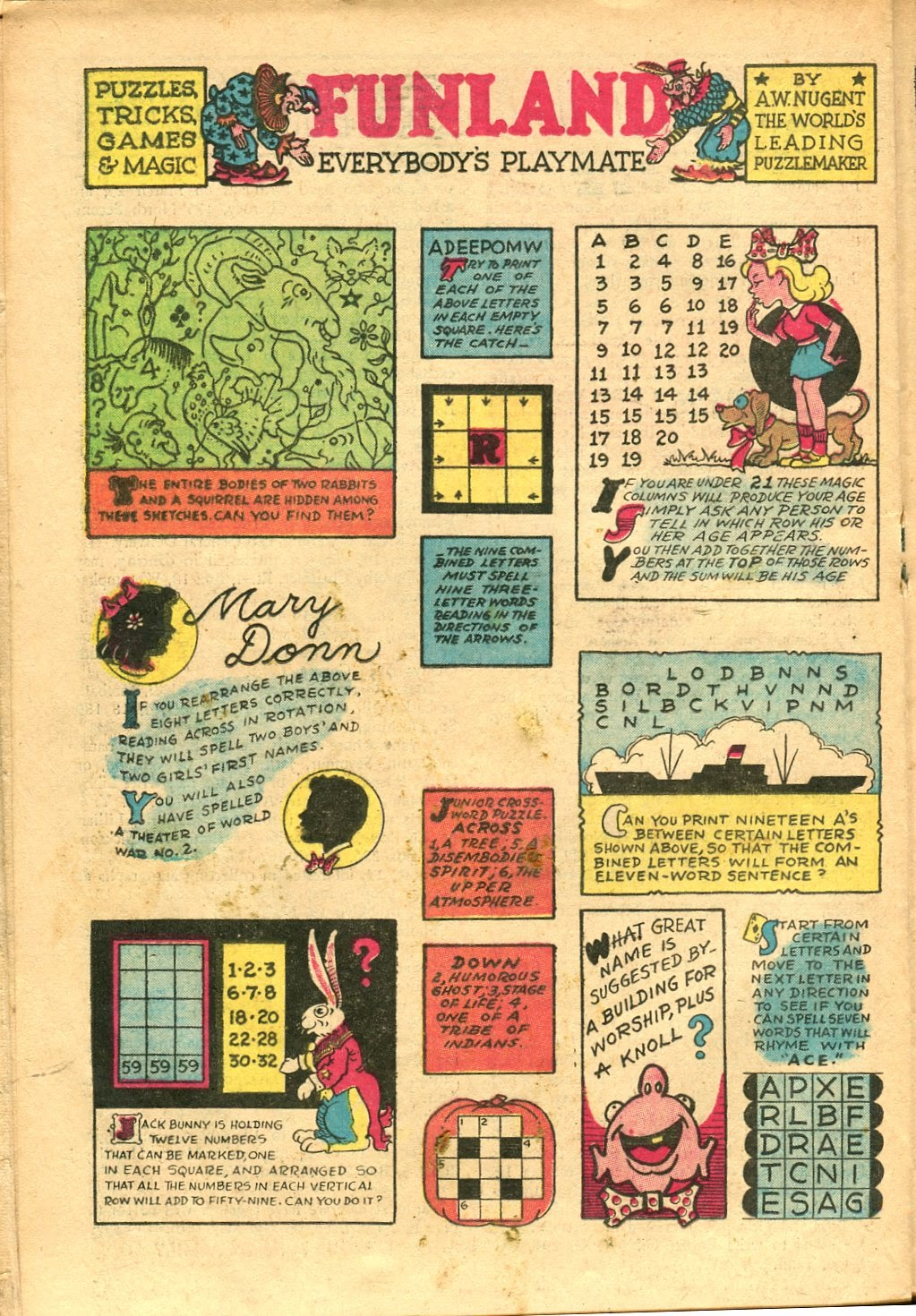 Read online Famous Funnies comic -  Issue #154 - 28