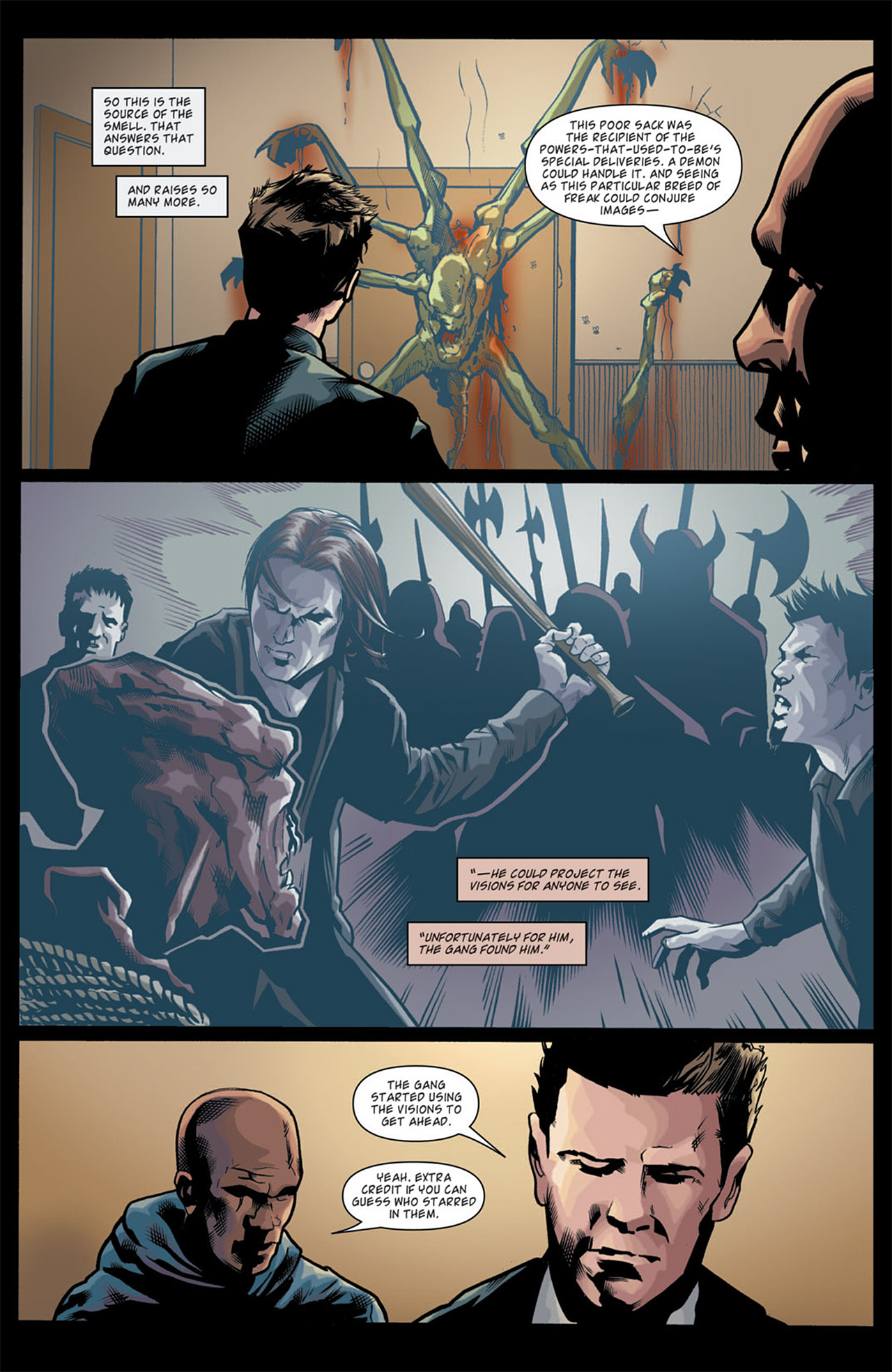 Read online Angel: After The Fall comic -  Issue #11 - 13