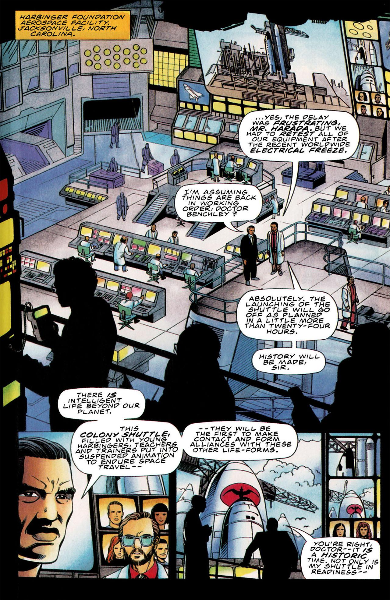 Read online Harbinger (1992) comic -  Issue #35 - 14