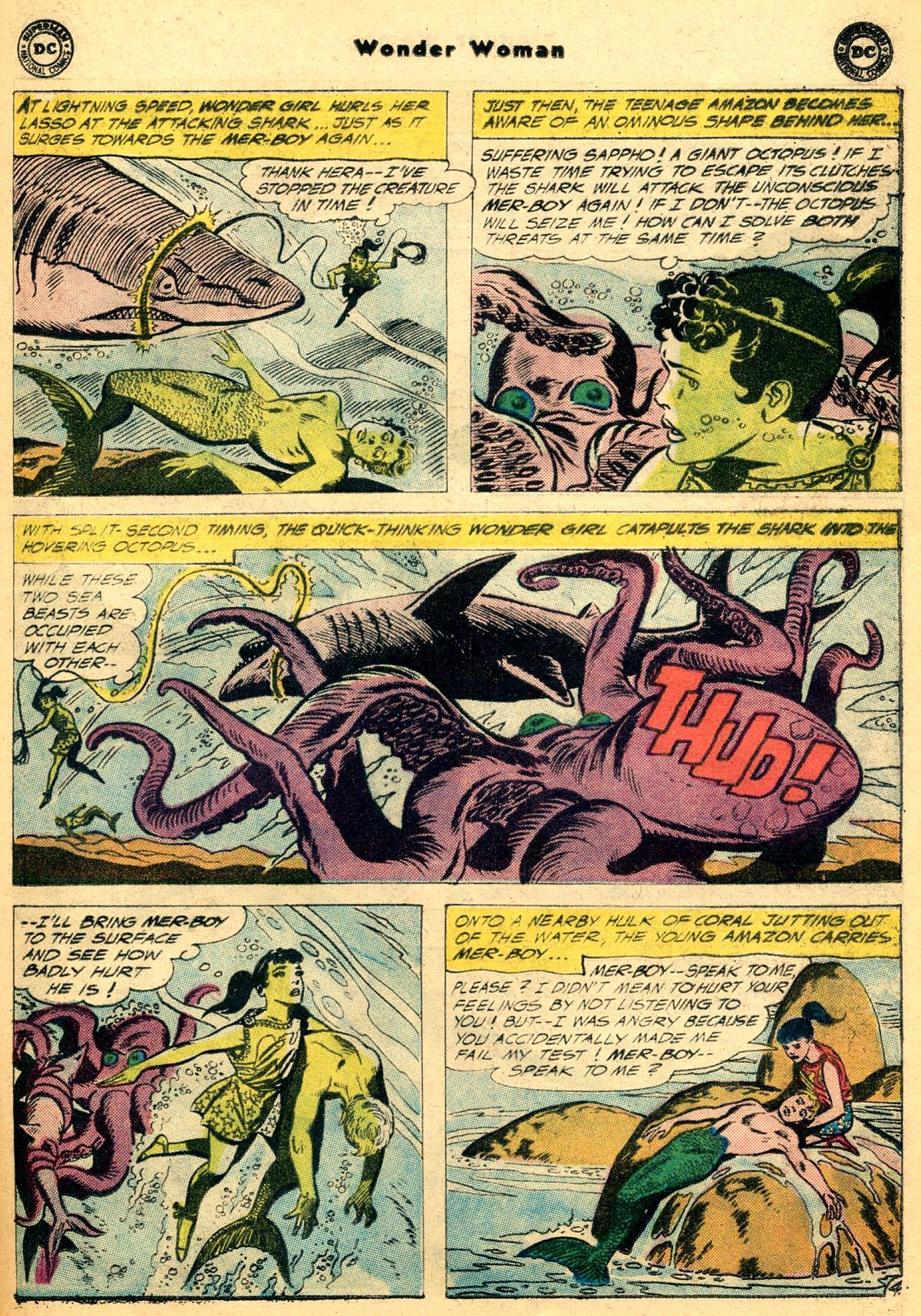 Read online Wonder Woman (1942) comic -  Issue #115 - 21