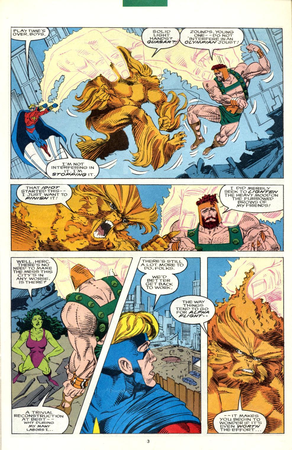 Read online Alpha Flight (1983) comic -  Issue #101 - 4