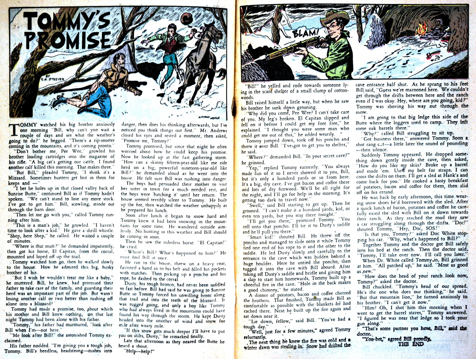 Read online Famous Funnies comic -  Issue #180 - 28