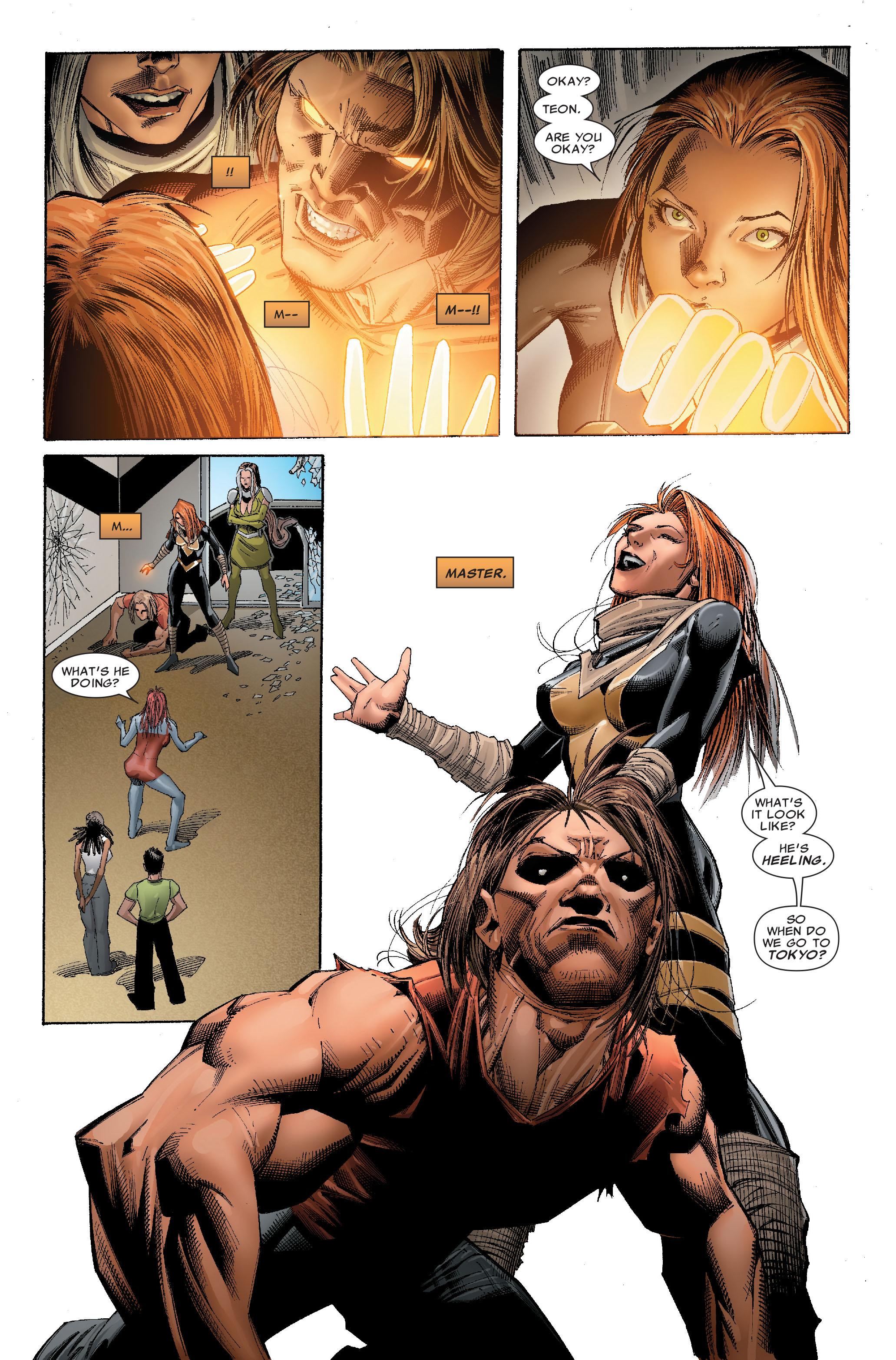 Read online Uncanny X-Men (1963) comic -  Issue #529 - 18