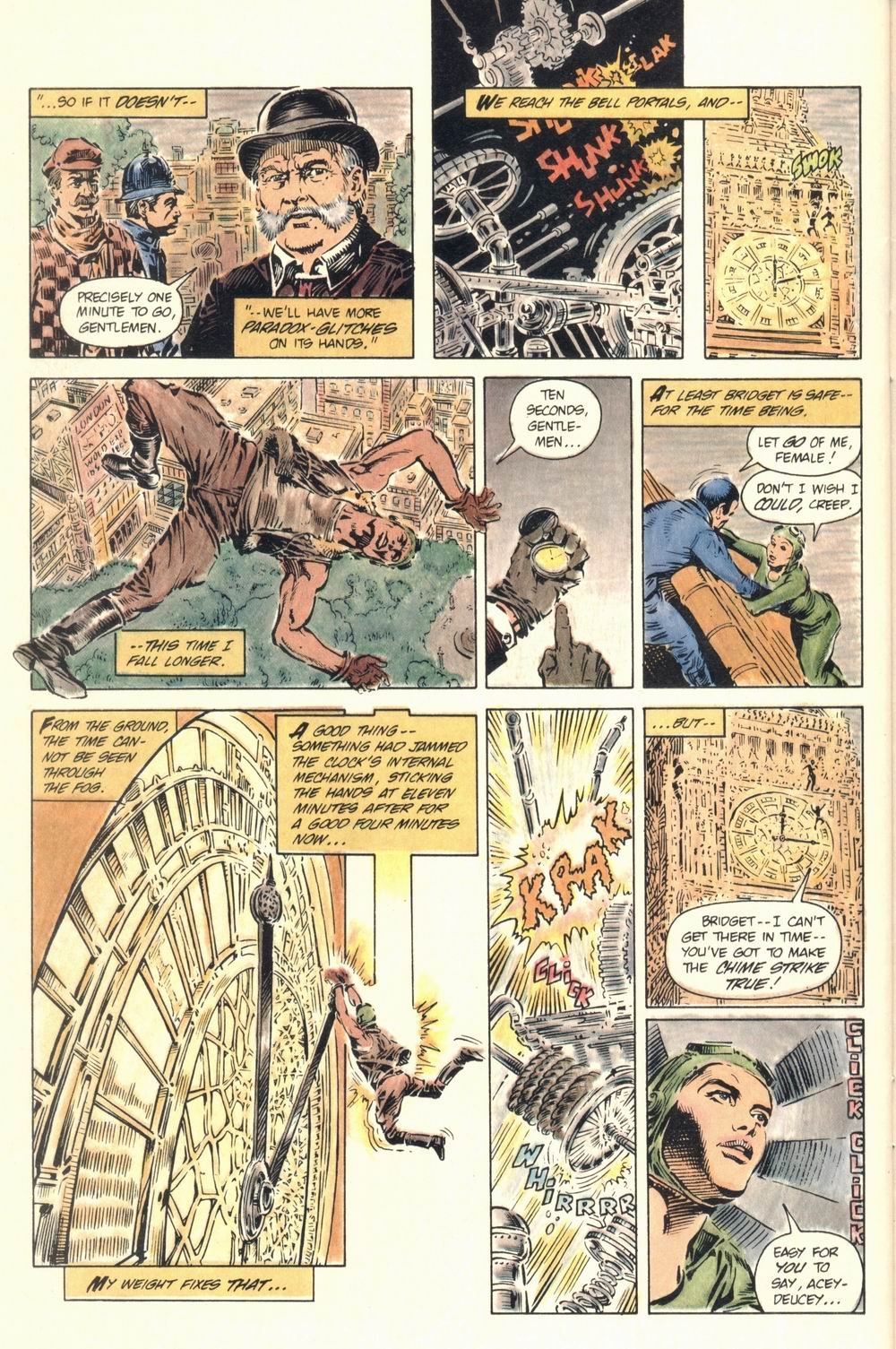Read online Aztec Ace comic -  Issue #1 - 40