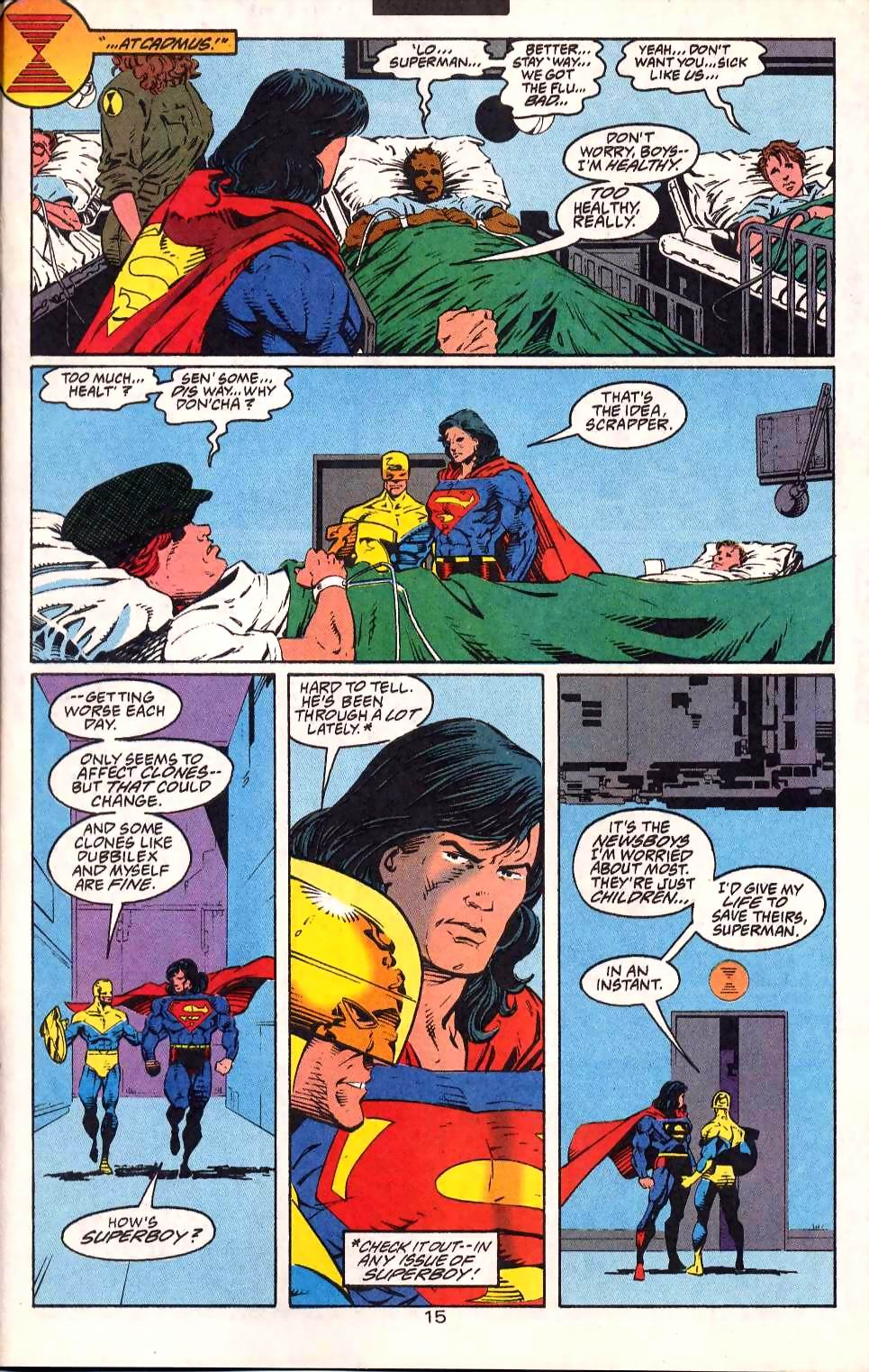 Read online Adventures of Superman (1987) comic -  Issue #511 - 18