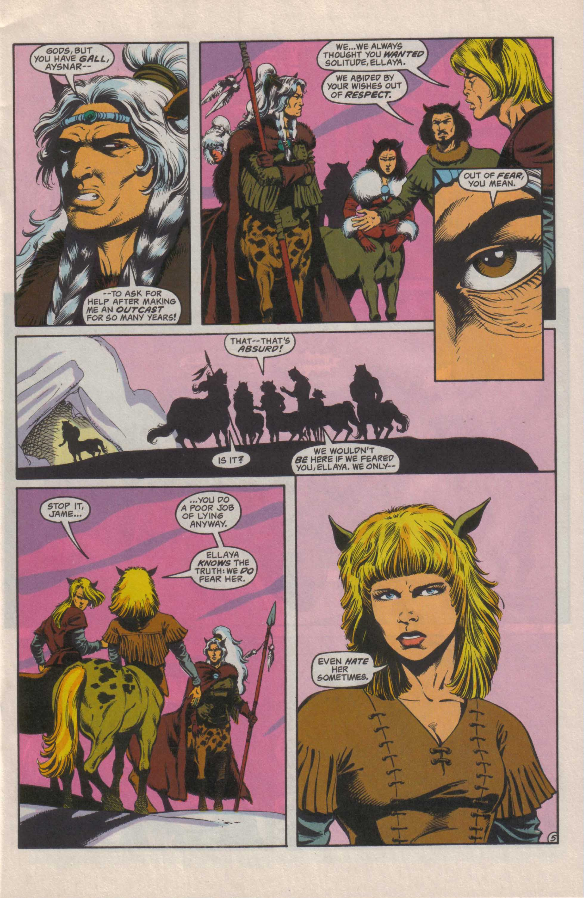 Read online Advanced Dungeons & Dragons comic -  Issue #25 - 6
