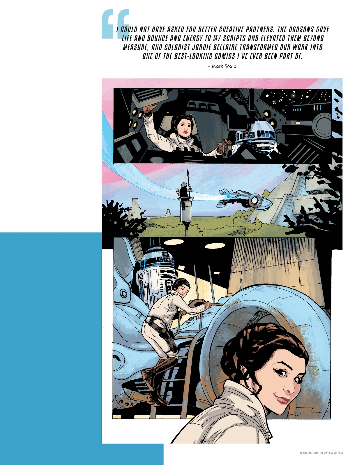 Read online The Marvel Art of Star Wars comic -  Issue # TPB (Part 2) - 35