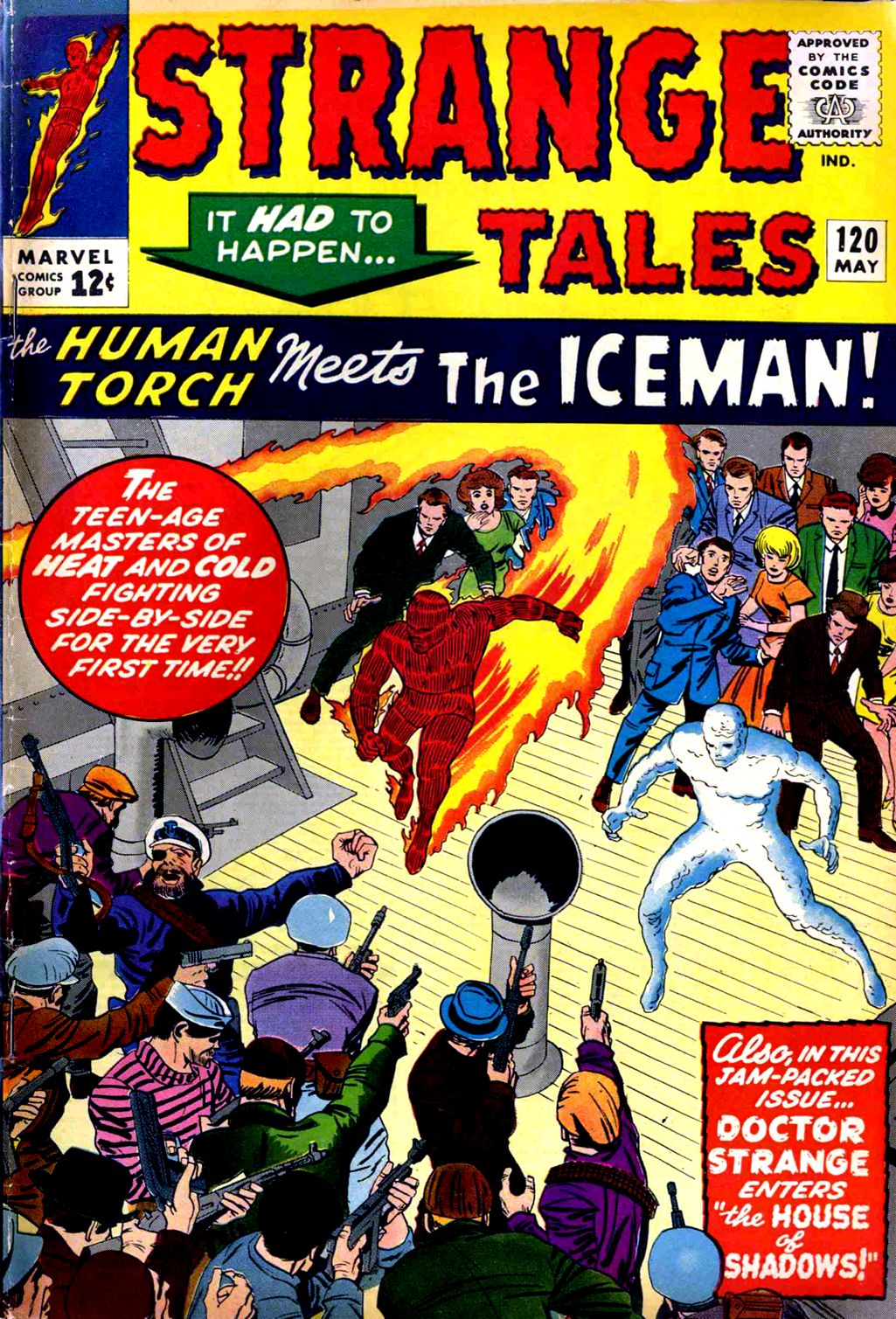 Strange Tales (1951) issue 120 - Page 1