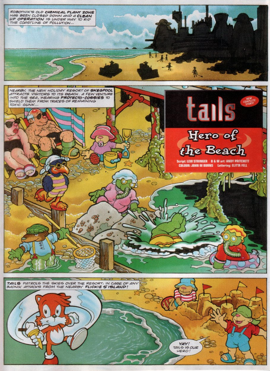 Read online Sonic the Comic comic -  Issue #111 - 9