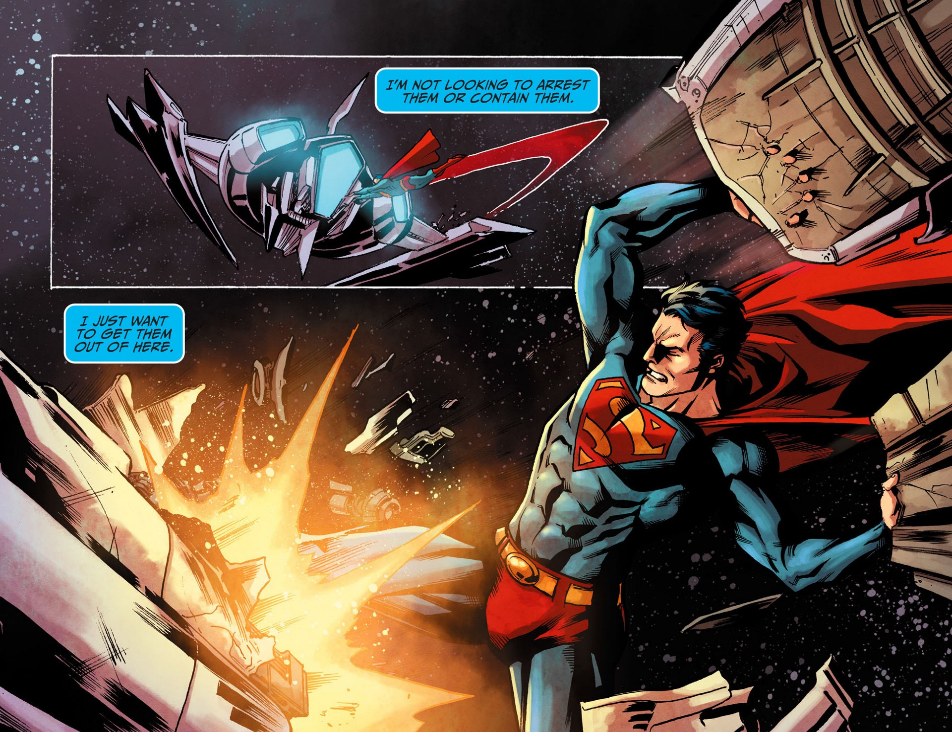 Read online Adventures of Superman [I] comic -  Issue #16 - 7