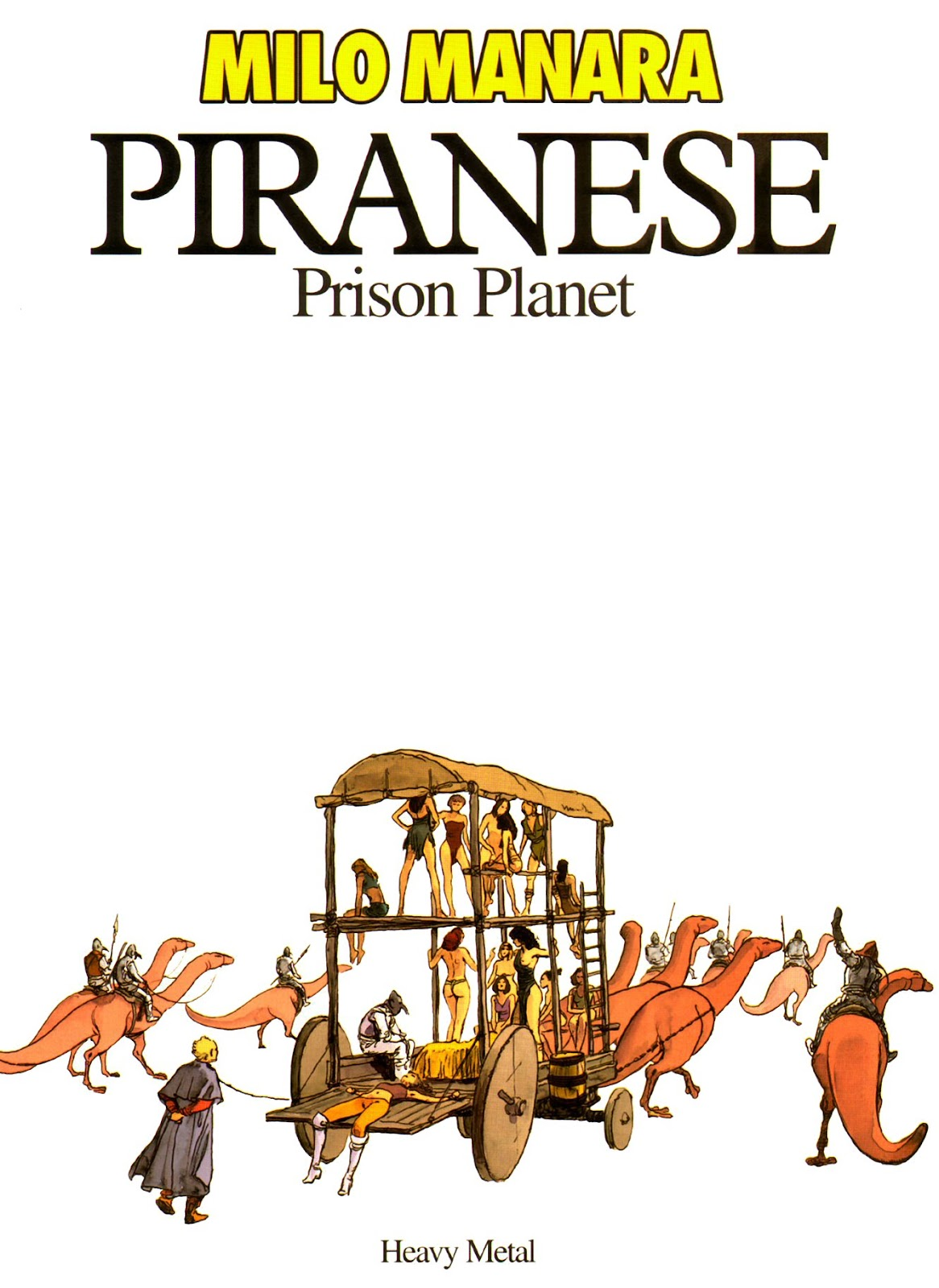 Read online Piranese The Prison Planet comic -  Issue # Full - 4