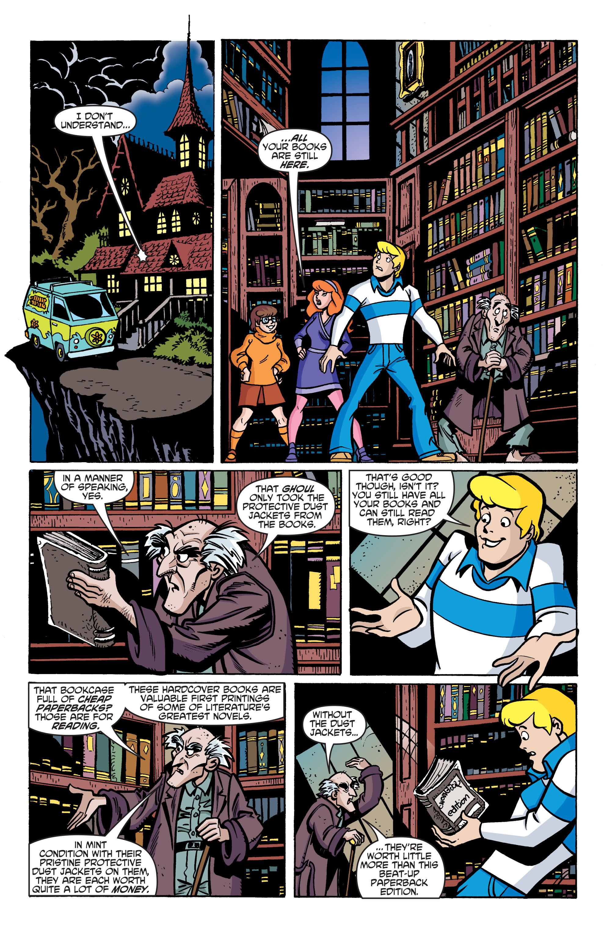 Read online Scooby-Doo: Where Are You? comic -  Issue #76 - 15
