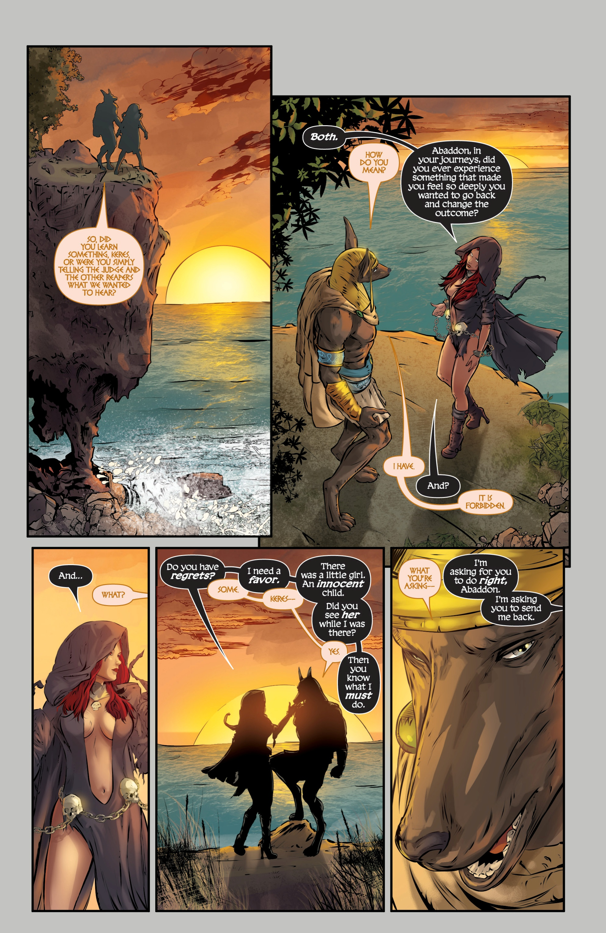Read online Grimm Fairy Tales presents Death comic -  Issue # Full - 37