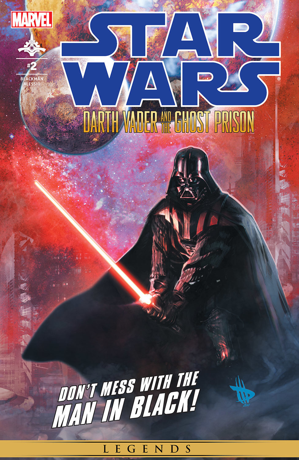Star Wars: Darth Vader and the Ghost Prison 2 Page 1