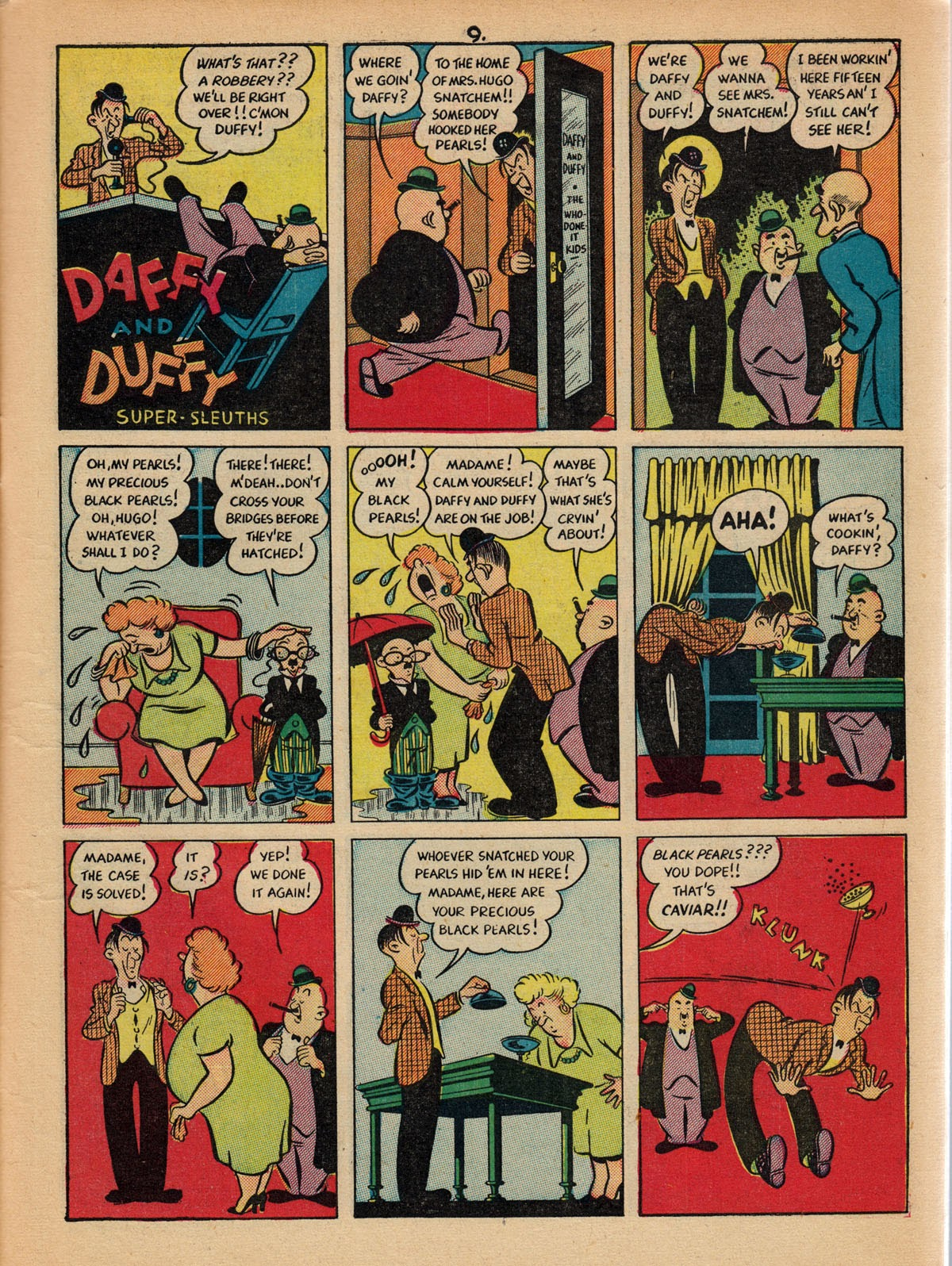 Read online Comedy Comics (1942) comic -  Issue #10 - 11