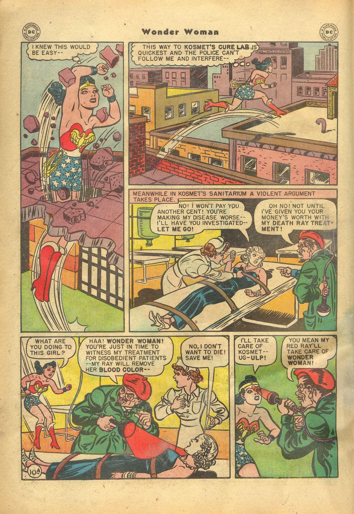Read online Wonder Woman (1942) comic -  Issue #22 - 12