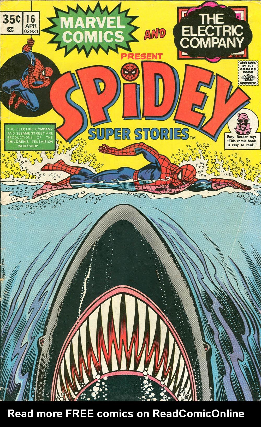 Spidey Super Stories 16 Page 1