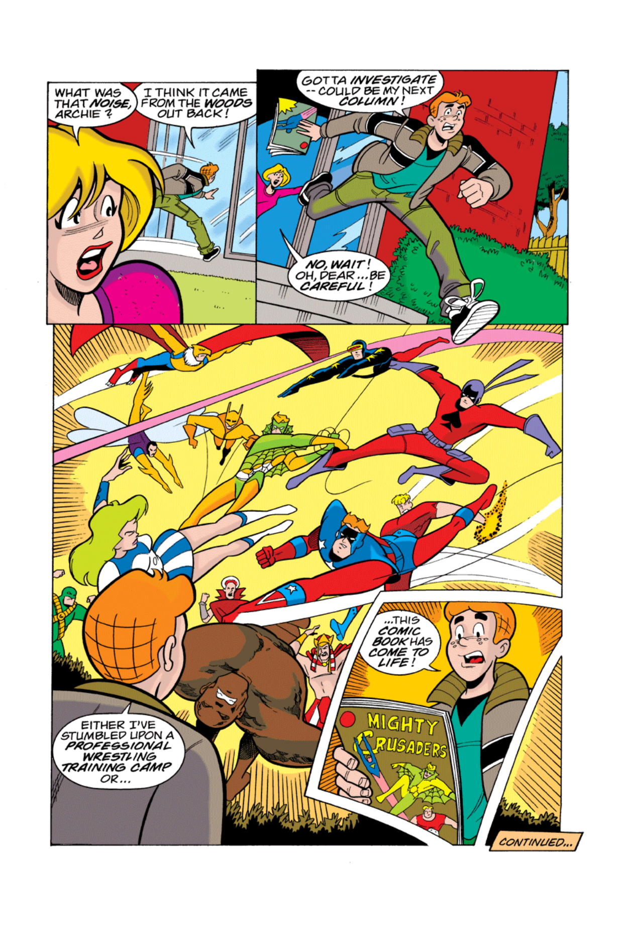 Read online Archie's Weird Mysteries comic -  Issue #3 - 6