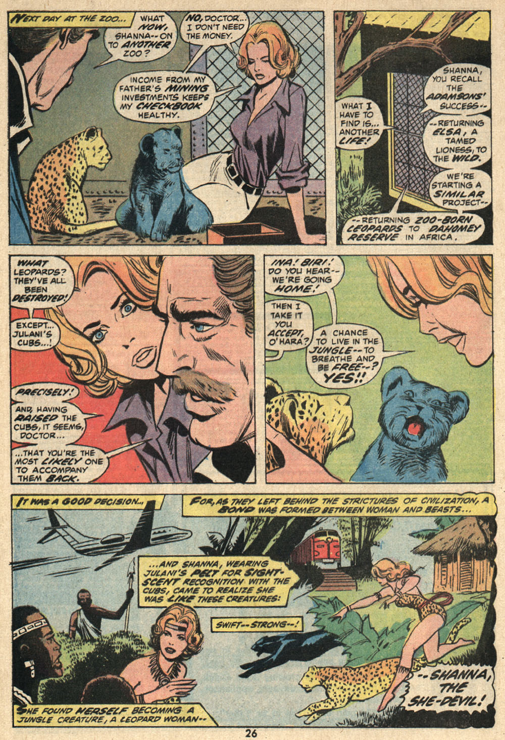 Read online Shanna, the She-Devil (1972) comic -  Issue #1 - 18