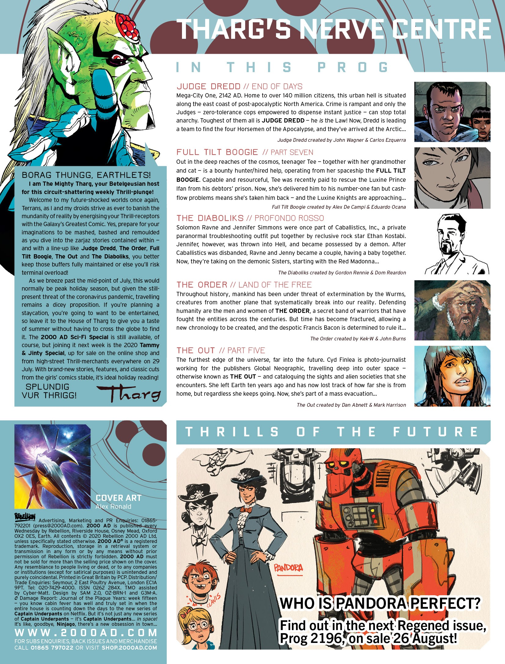 2000 AD 2191 Page 2