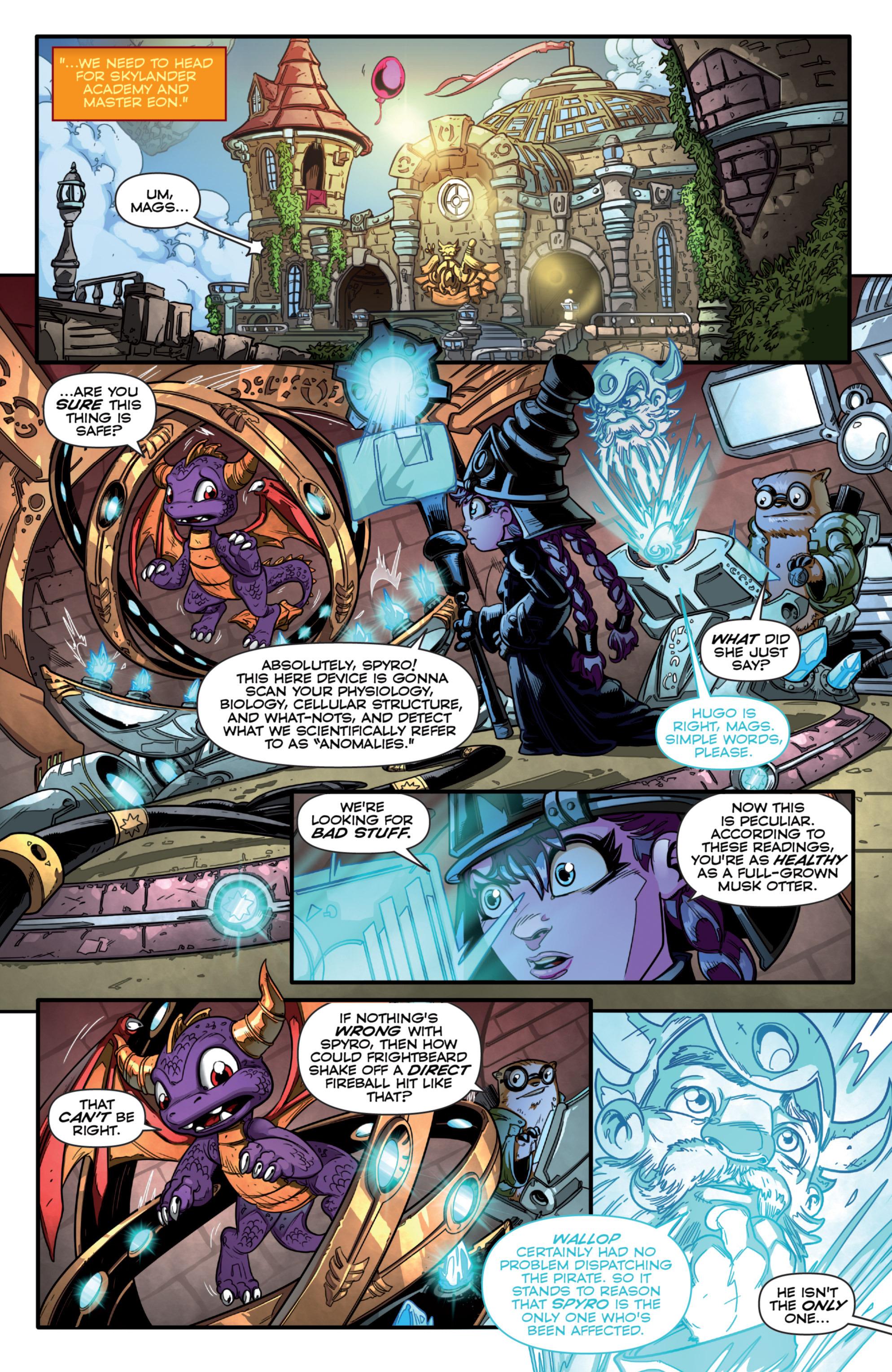 Read online Skylanders comic -  Issue #7 - 8