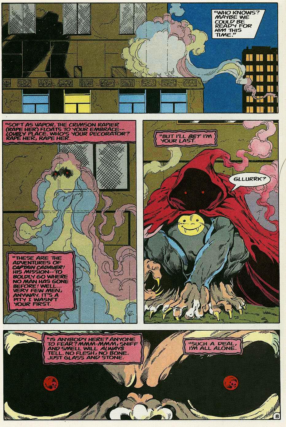 Elementals (1984) issue 17 - Page 10