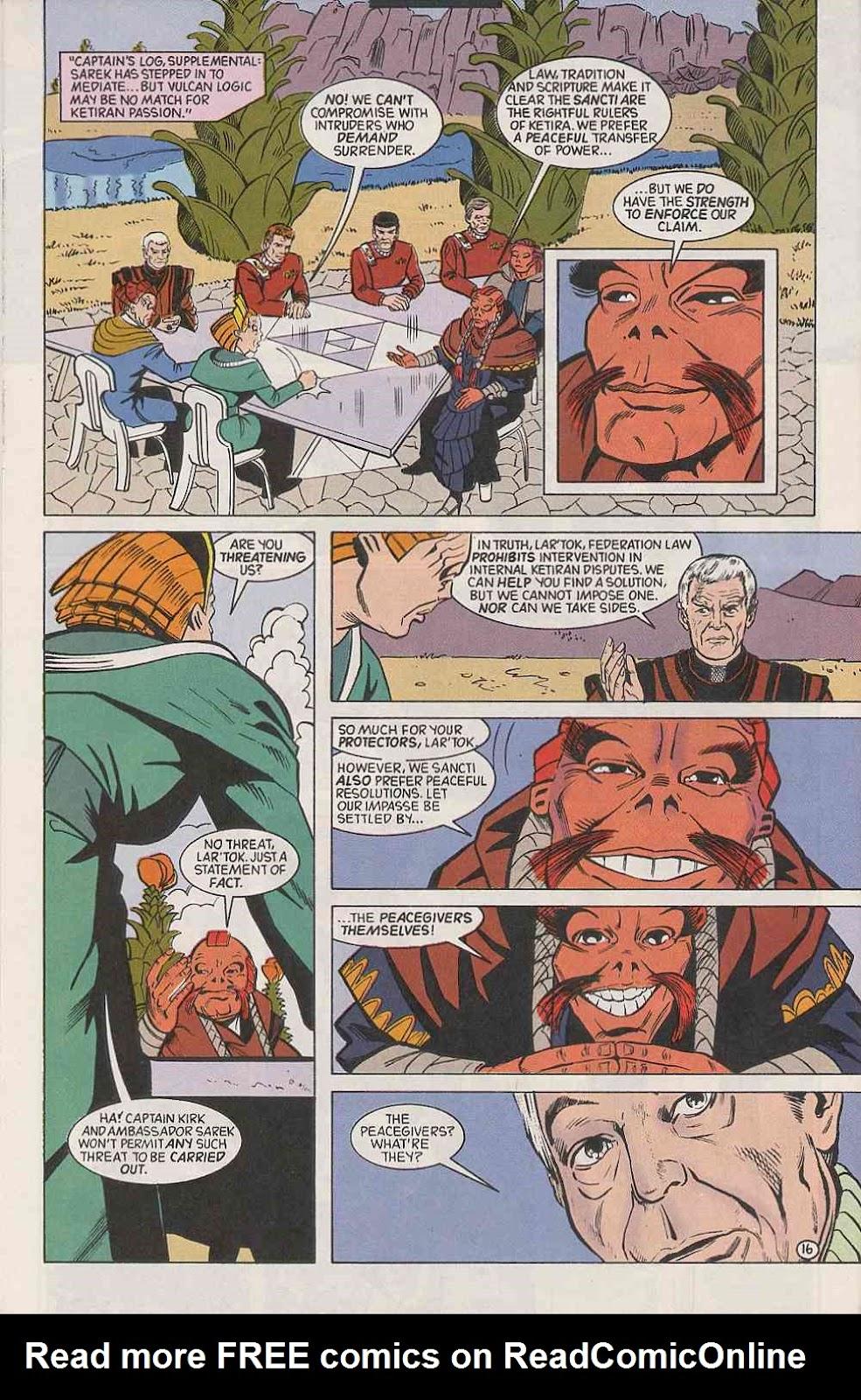 Read online Star Trek (1989) comic -  Issue # Annual 3 - 20
