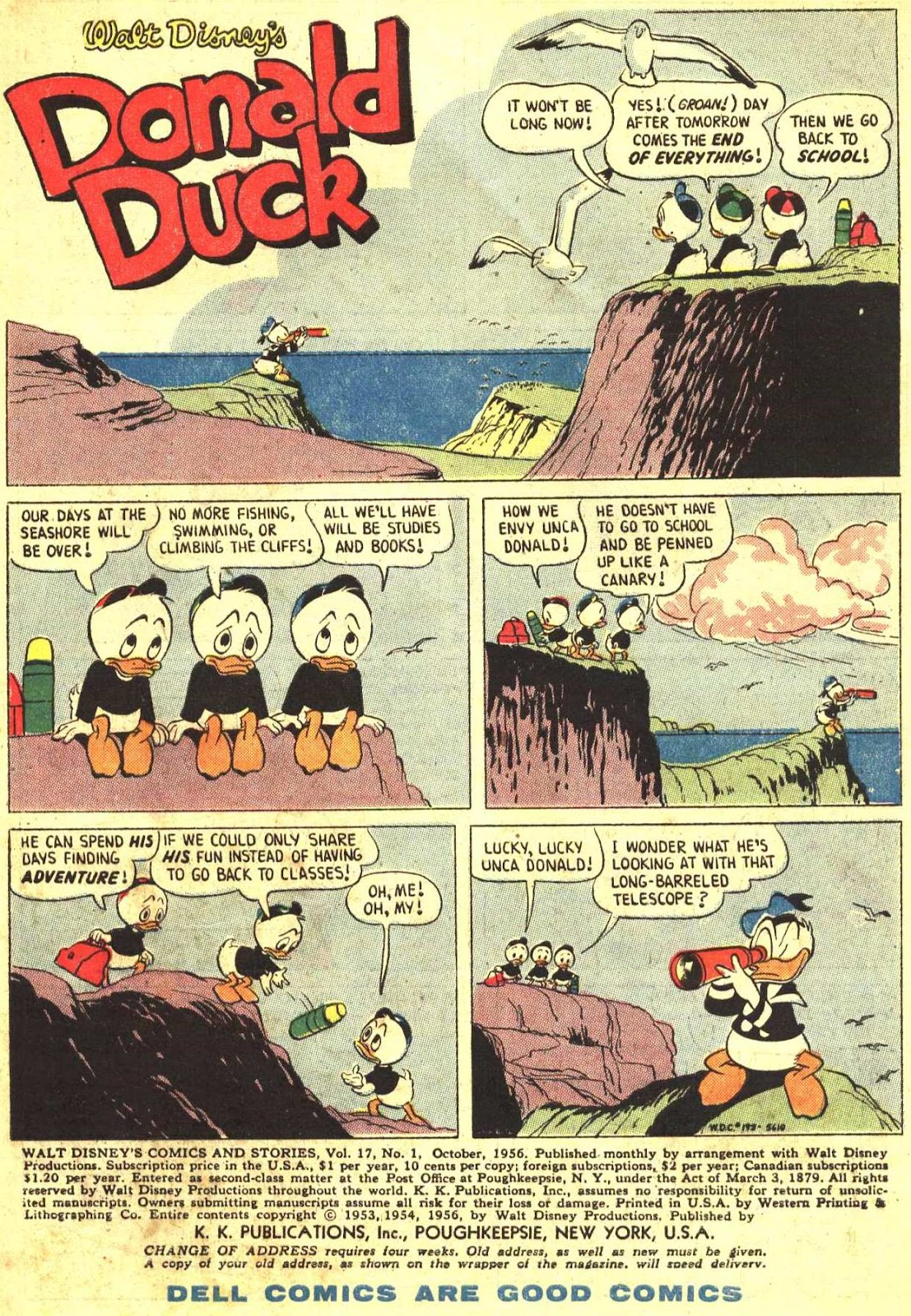 Walt Disney's Comics and Stories issue 193 - Page 3